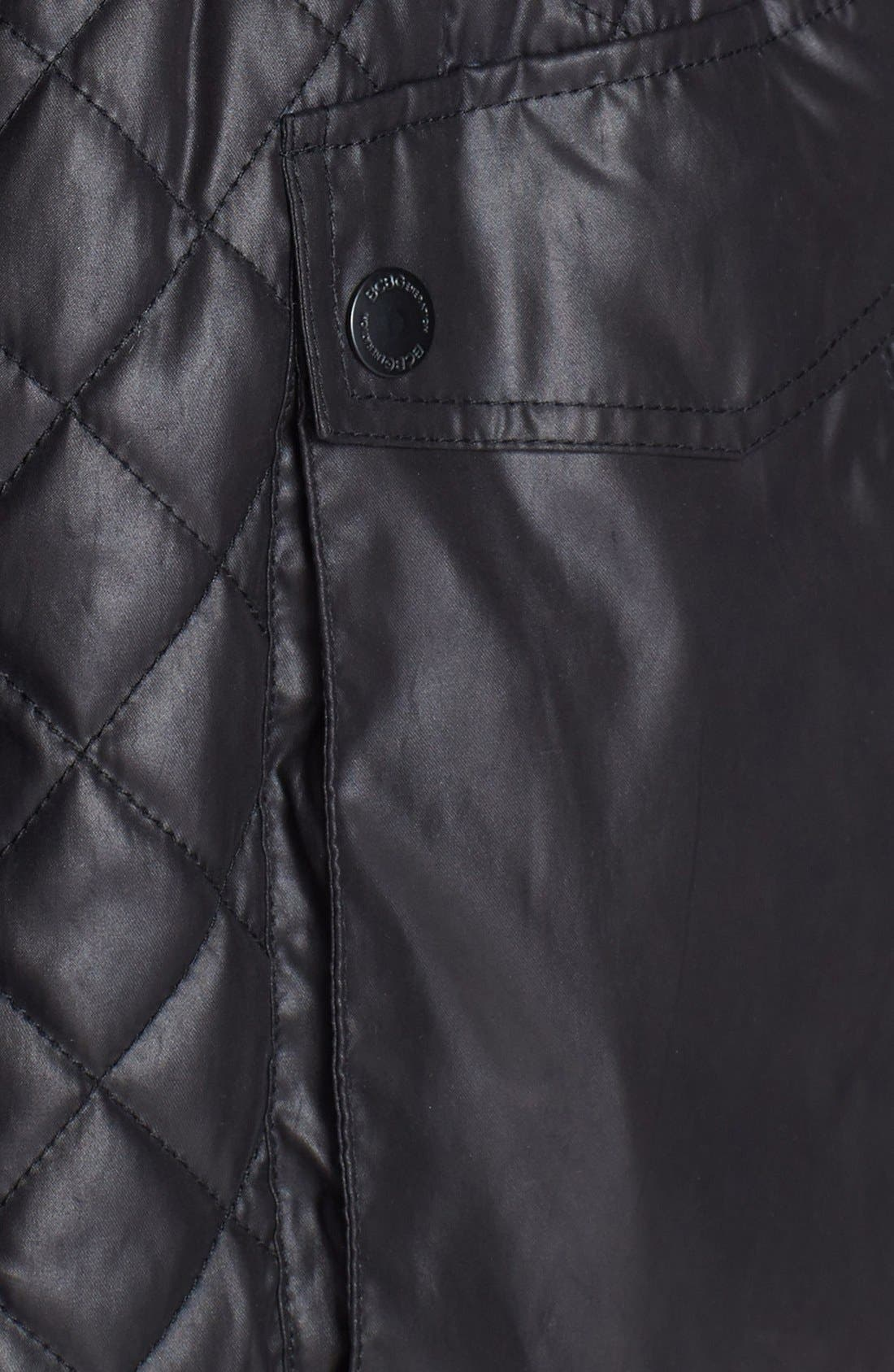 Alternate Image 3  - BCBGeneration Quilted Anorak with Stowaway Hood