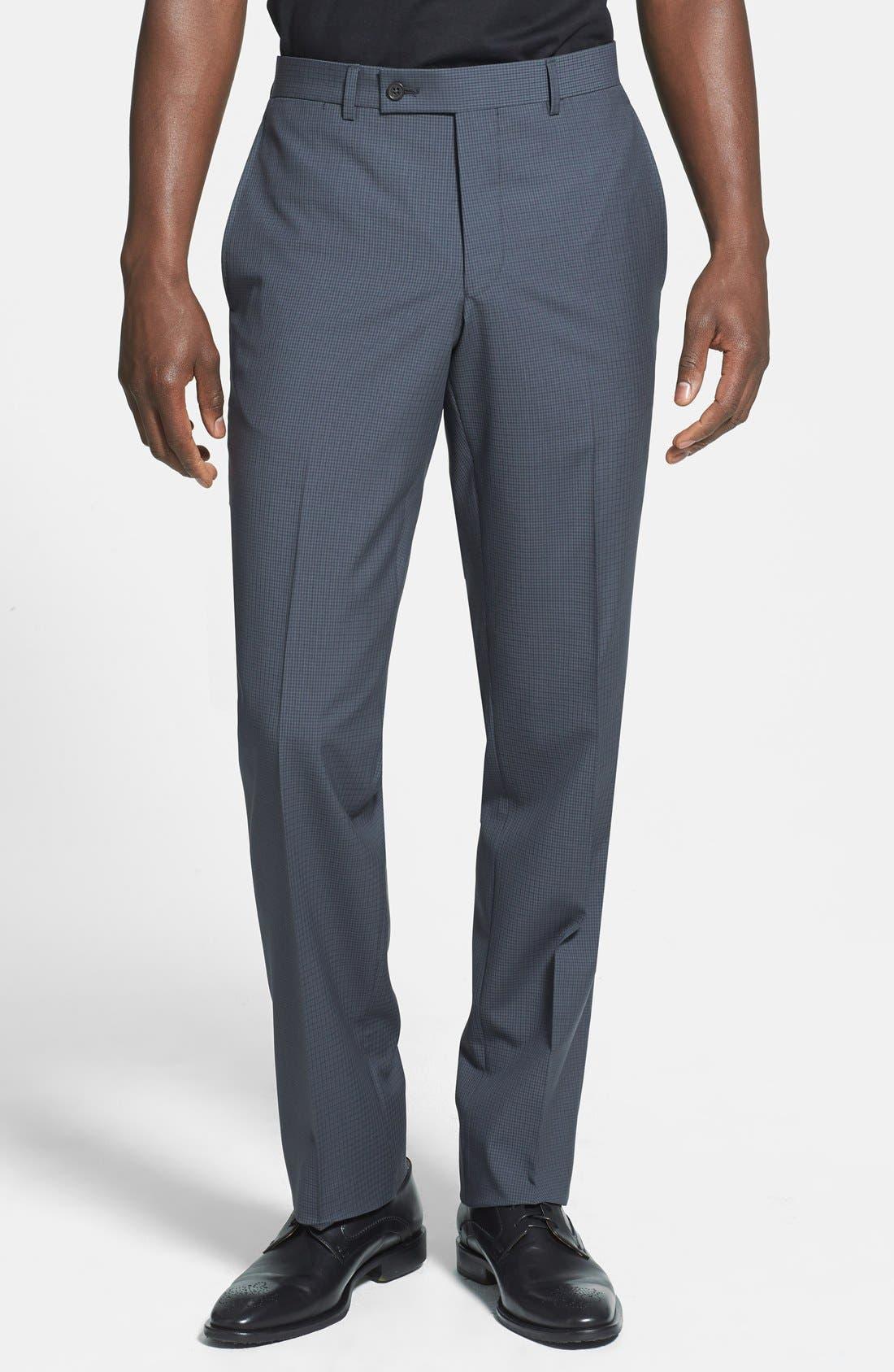 Alternate Image 4  - Ted Baker London 'Jones' Trim Fit Check Suit (Online Only)