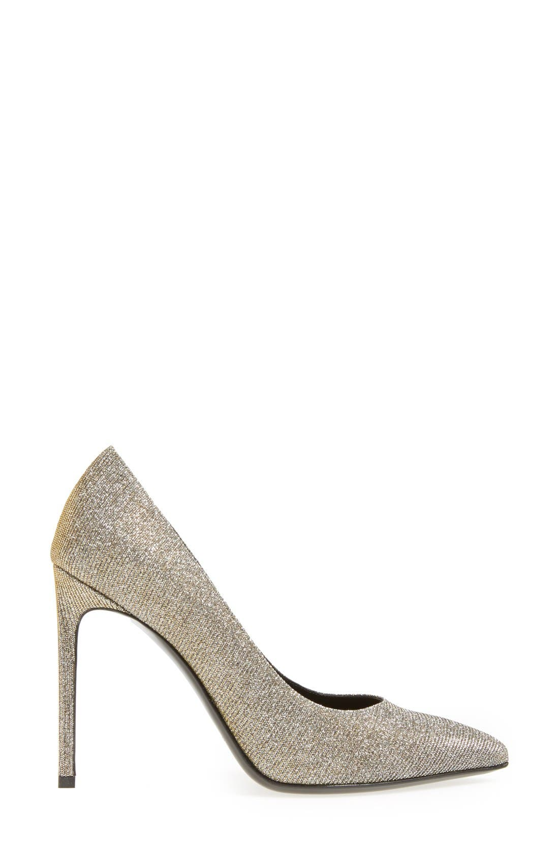 Alternate Image 4  - Saint Laurent Pointy Toe Pump (Women)