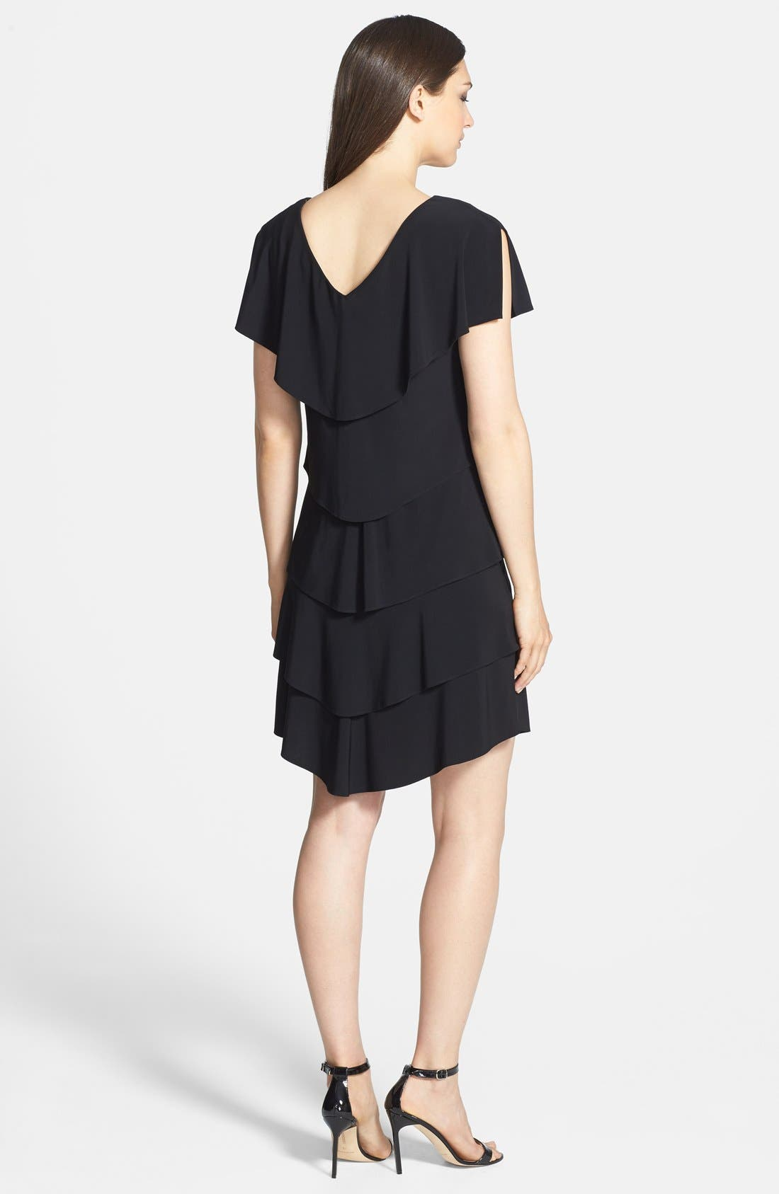 Alternate Image 2  - Patra Embellished Tiered Jersey Dress