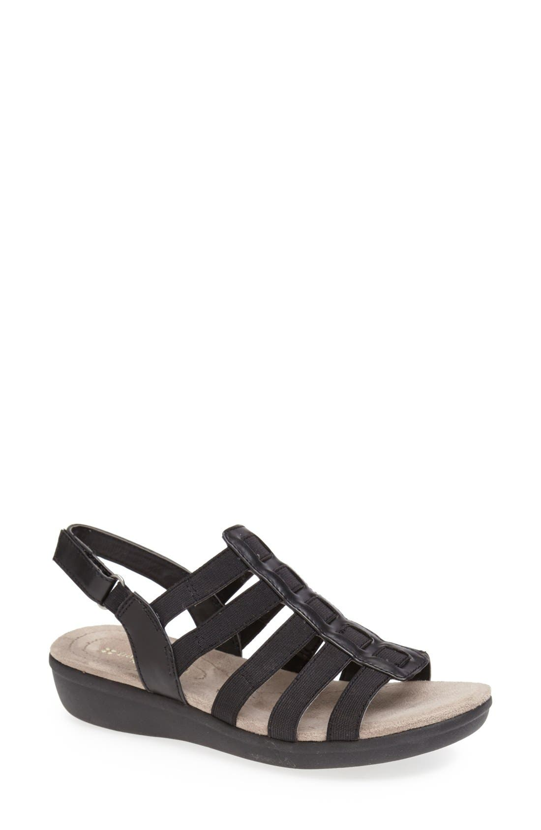 Alternate Image 1 Selected - Naturalizer 'Wyonna' Leather Sandal (Women)