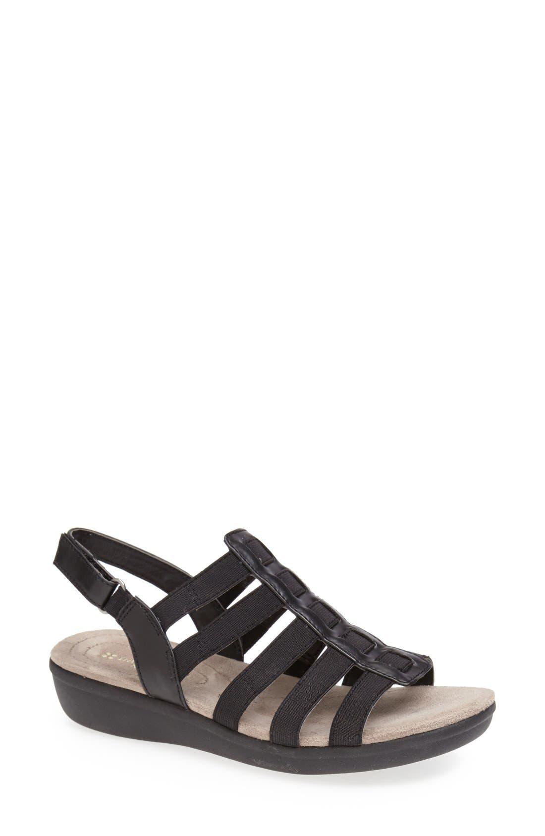 Main Image - Naturalizer 'Wyonna' Leather Sandal (Women)