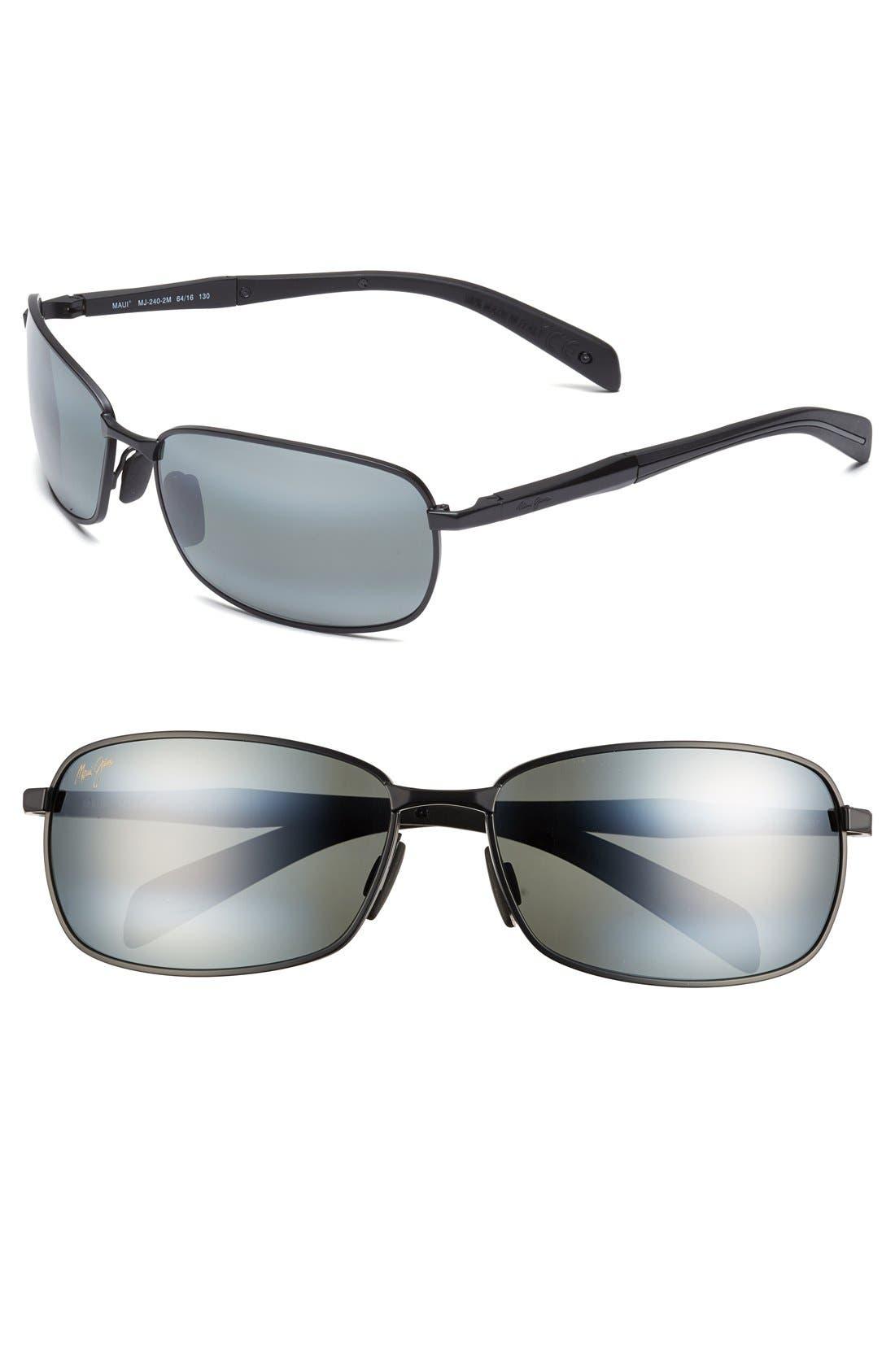 Main Image - Maui Jim 'Long Beach - PolarizedPlus®2' 64mm Sunglasses