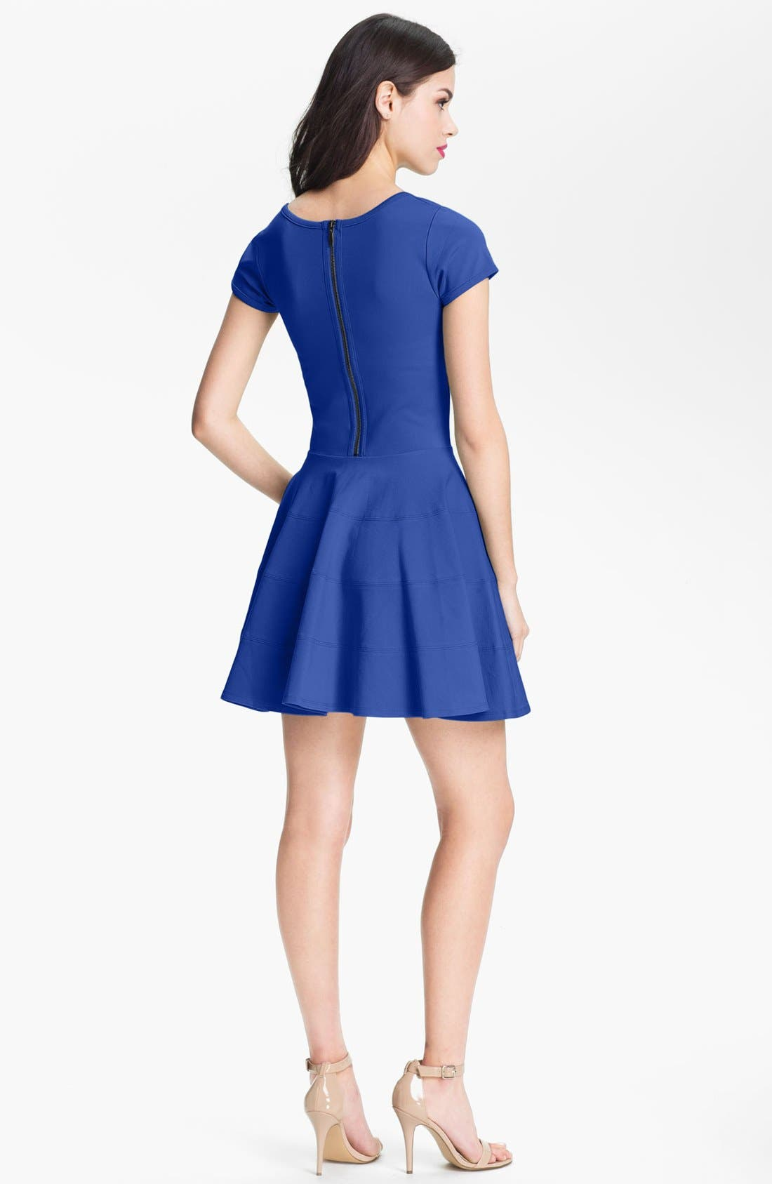 Alternate Image 2  - Felicity & Coco Ponte Knit Fit & Flare Dress (Nordstrom Exclusive)