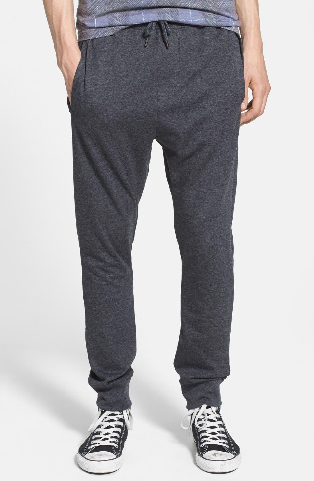 Alternate Image 1 Selected - Topman Skinny Fit Jogger Sweatpants