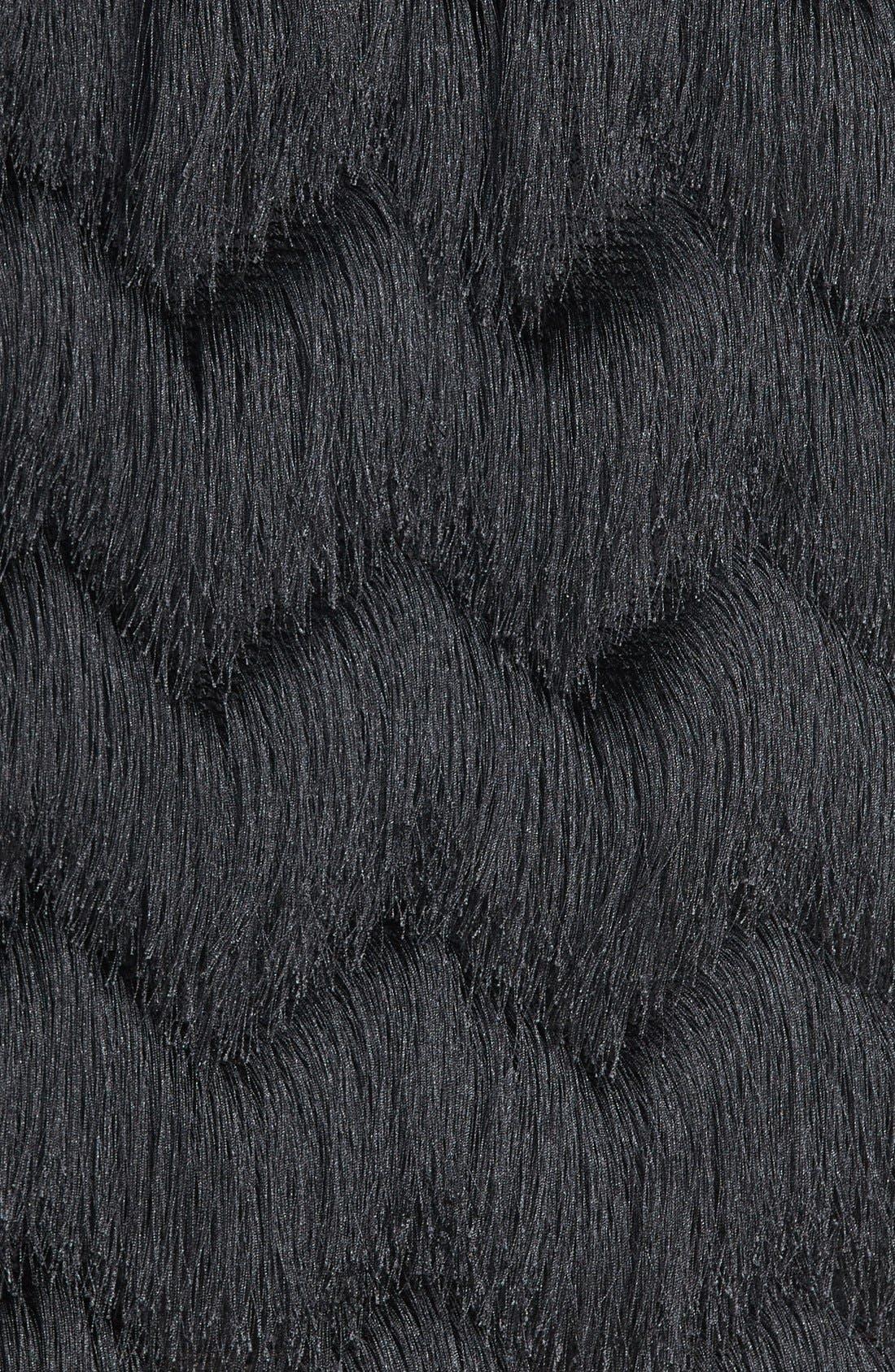 Alternate Image 3  - Leith Fringe Miniskirt
