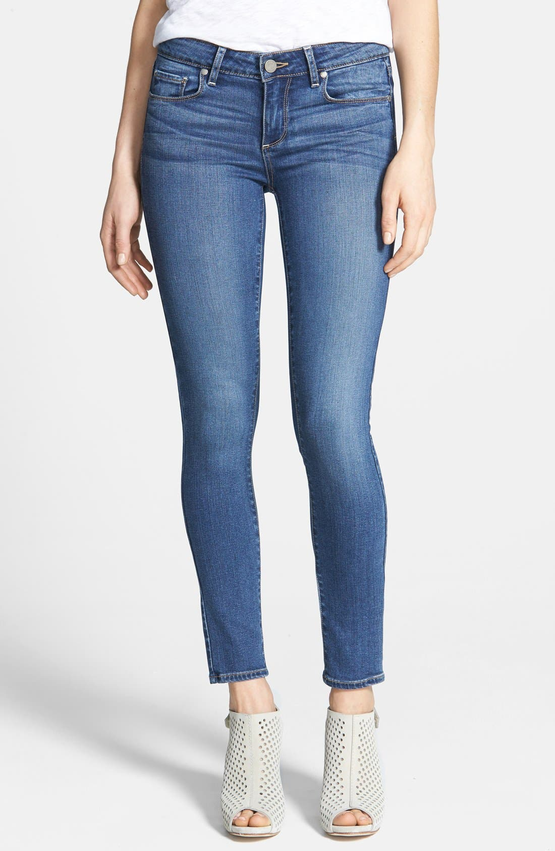 Alternate Image 1 Selected - PAIGE Transcend - Verdugo Ankle Skinny Jeans (Tristan)