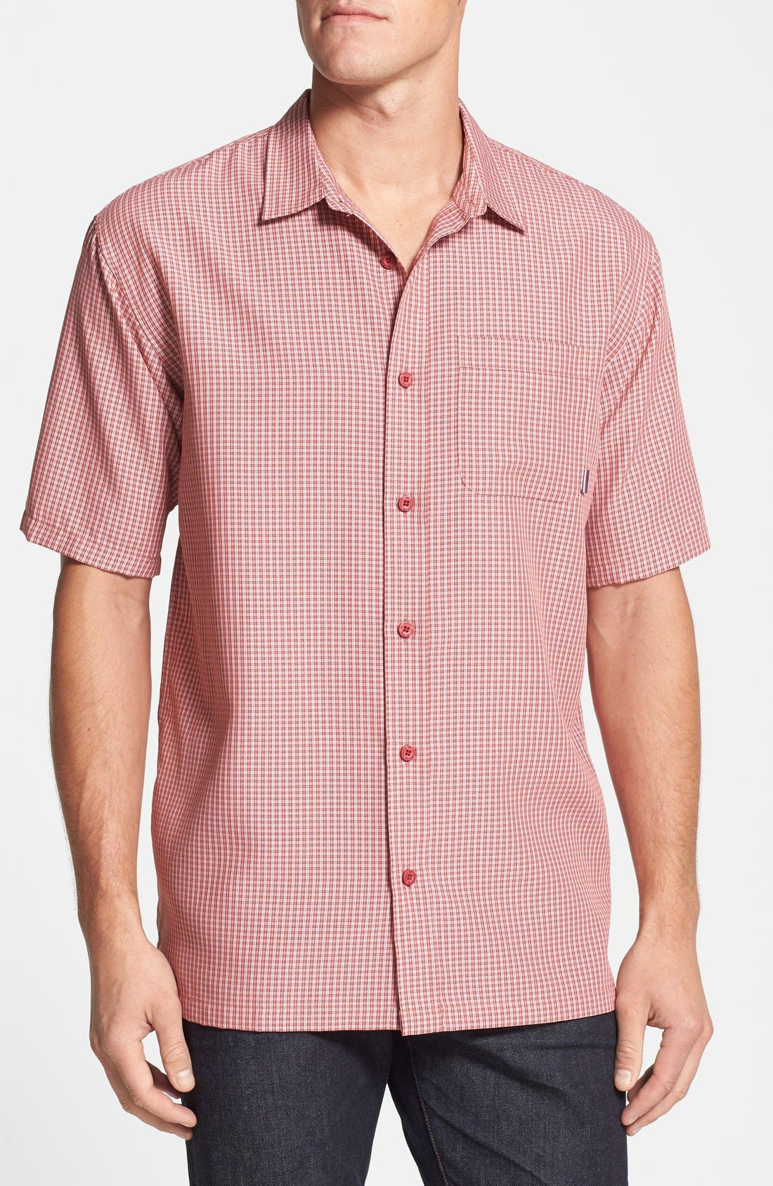 Alternate Image 1 Selected - Jack O'Neill 'Ford' Standard Fit Short Sleeve Woven Sport Shirt