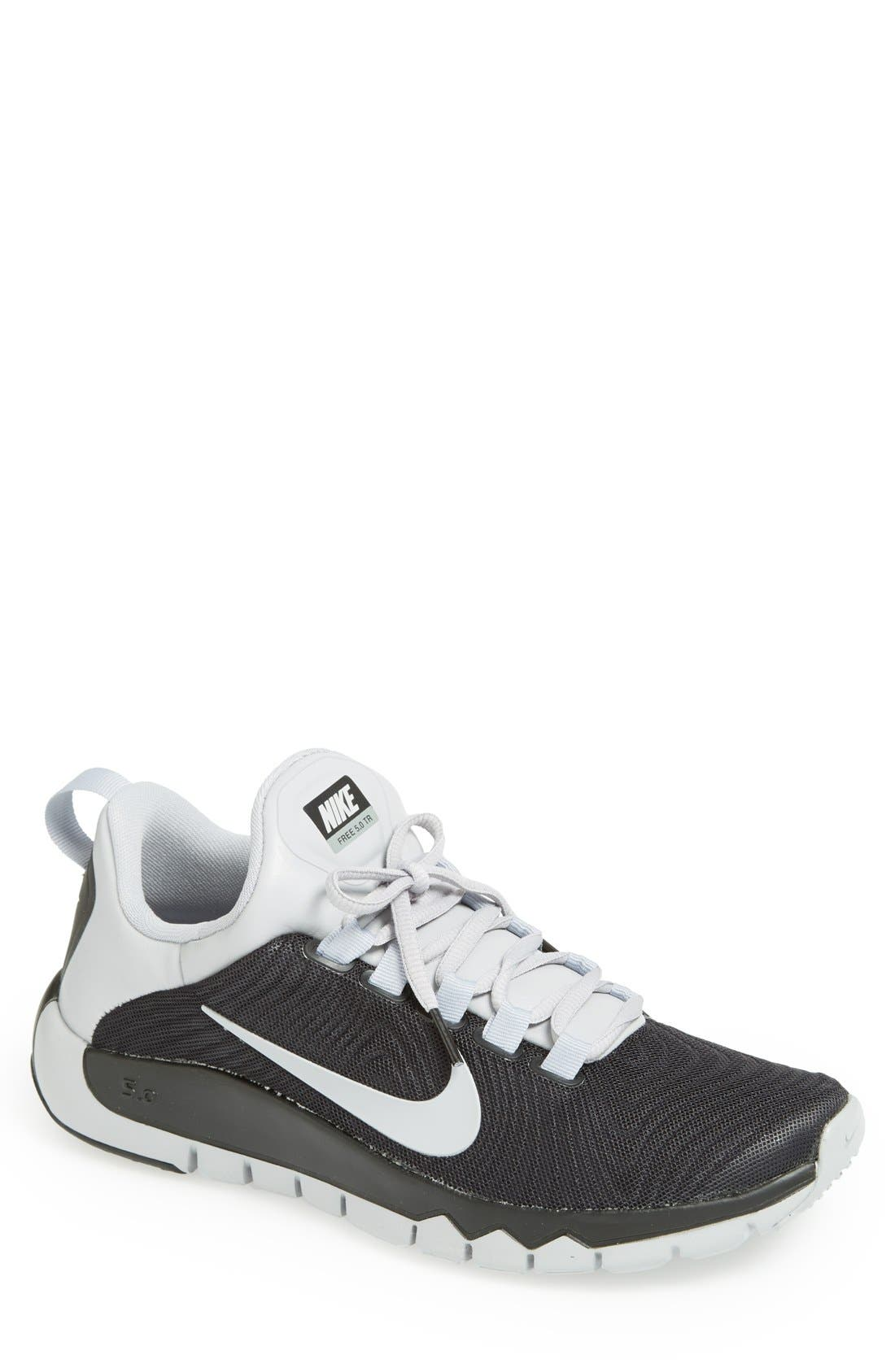 Alternate Image 1 Selected - Nike 'Free 5.0 Trainer' Training Shoe (Men)