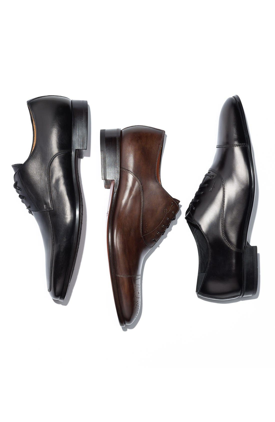 Alternate Image 5  - Santoni 'Prichard' Apron Toe Derby (Men)
