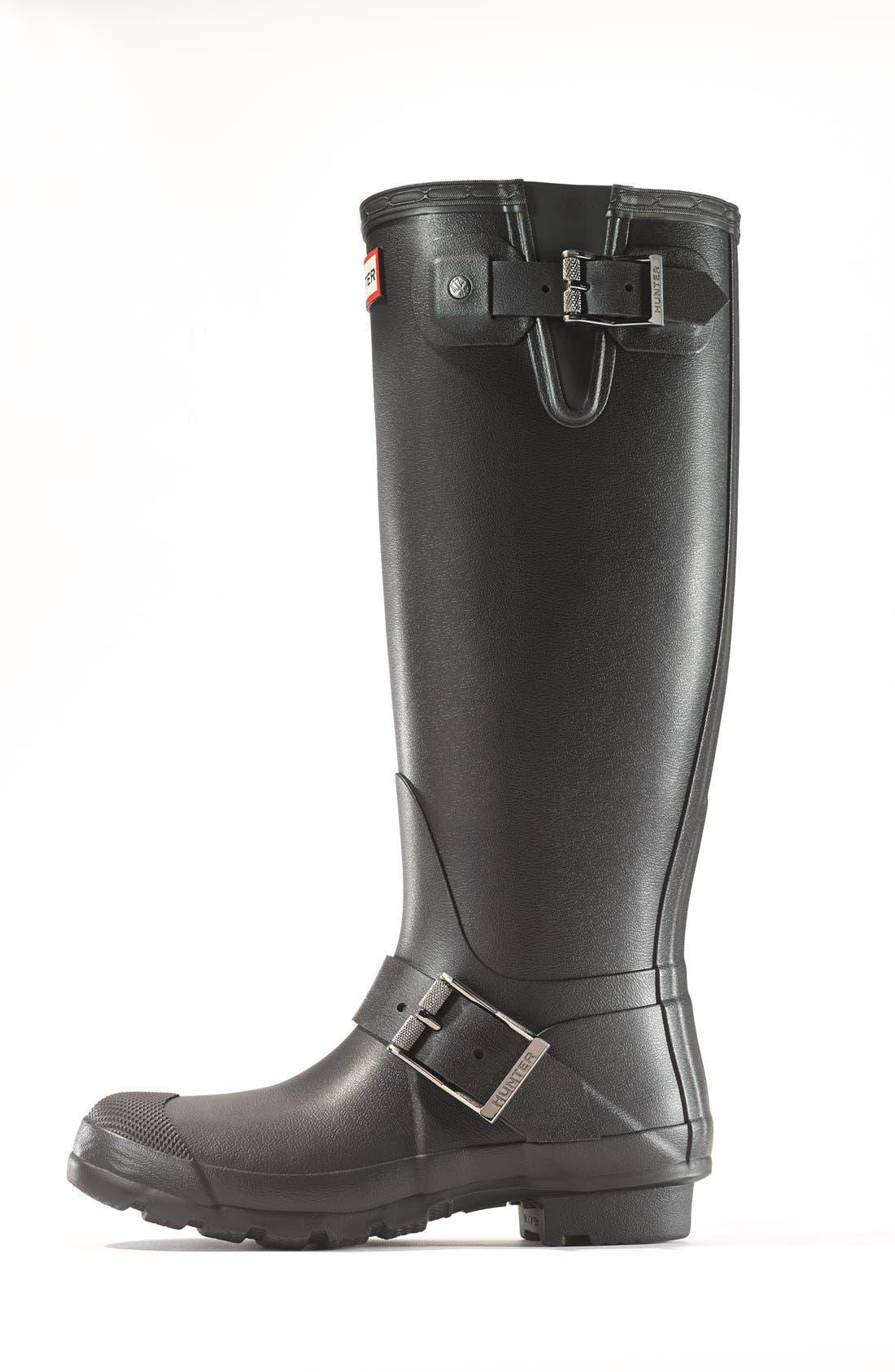 Alternate Image 7  - Hunter 'Tall Moto' Rain Boot (Nordstrom Exclusive) (Women)