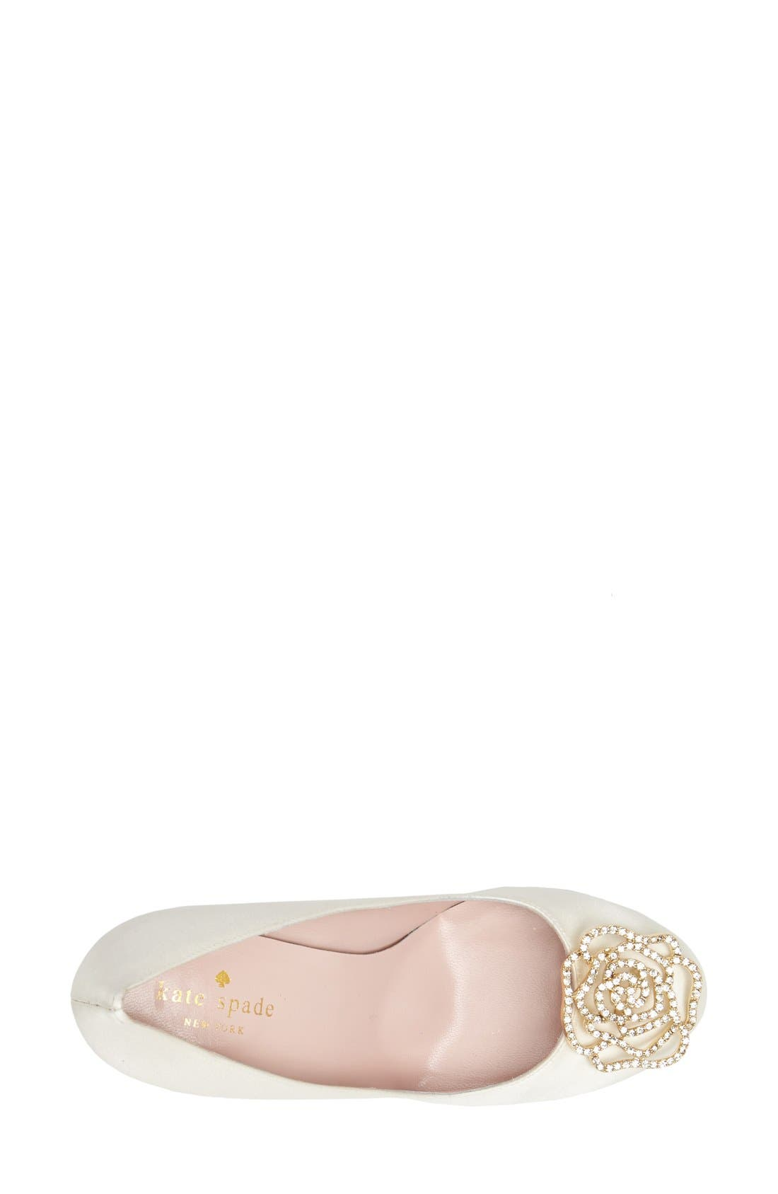 Alternate Image 4  - kate spade new york 'kari' pump (Women)