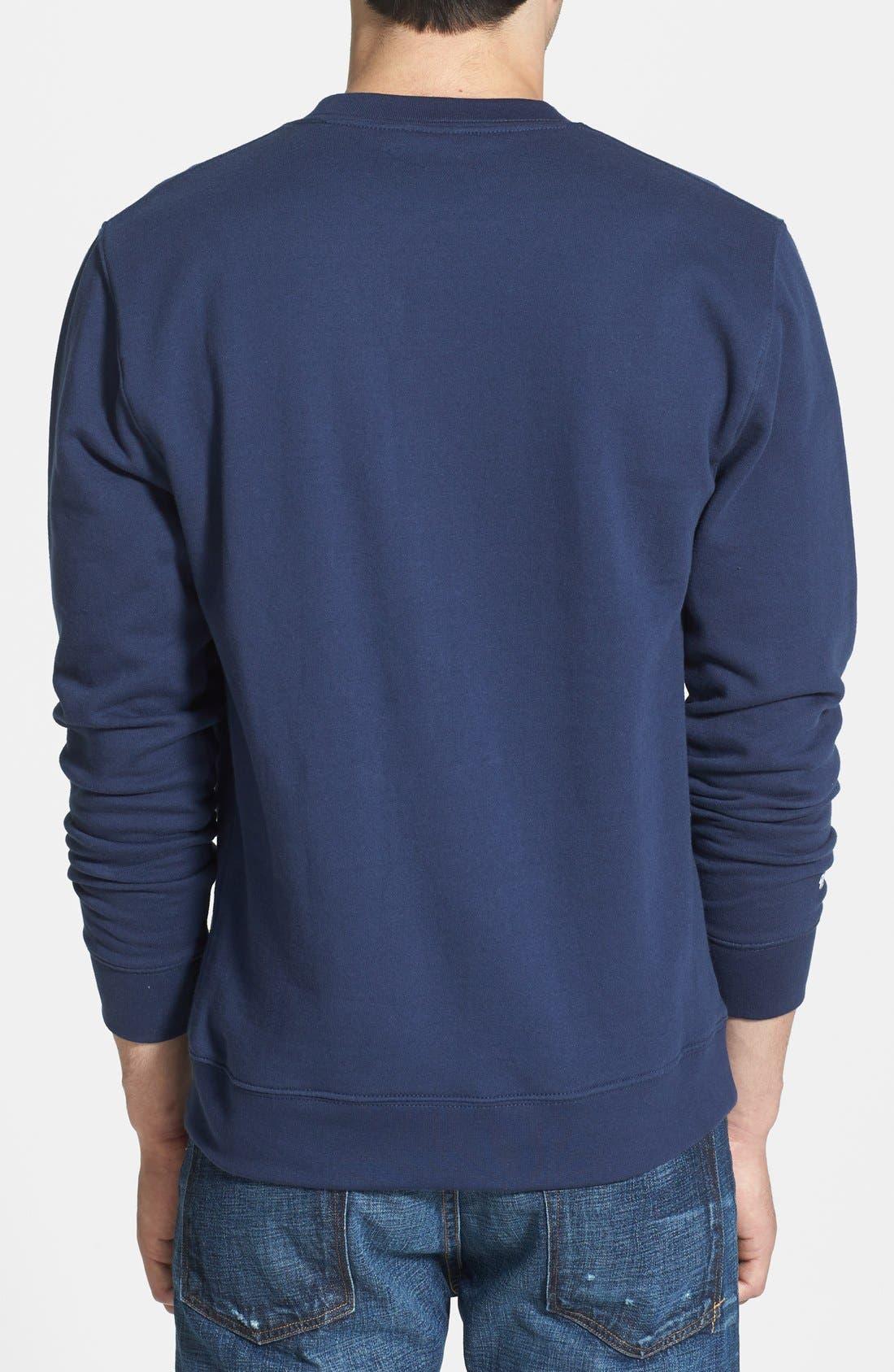 Alternate Image 2  - Mitchell & Ness 'Detroit Tigers' Crewneck Sweatshirt