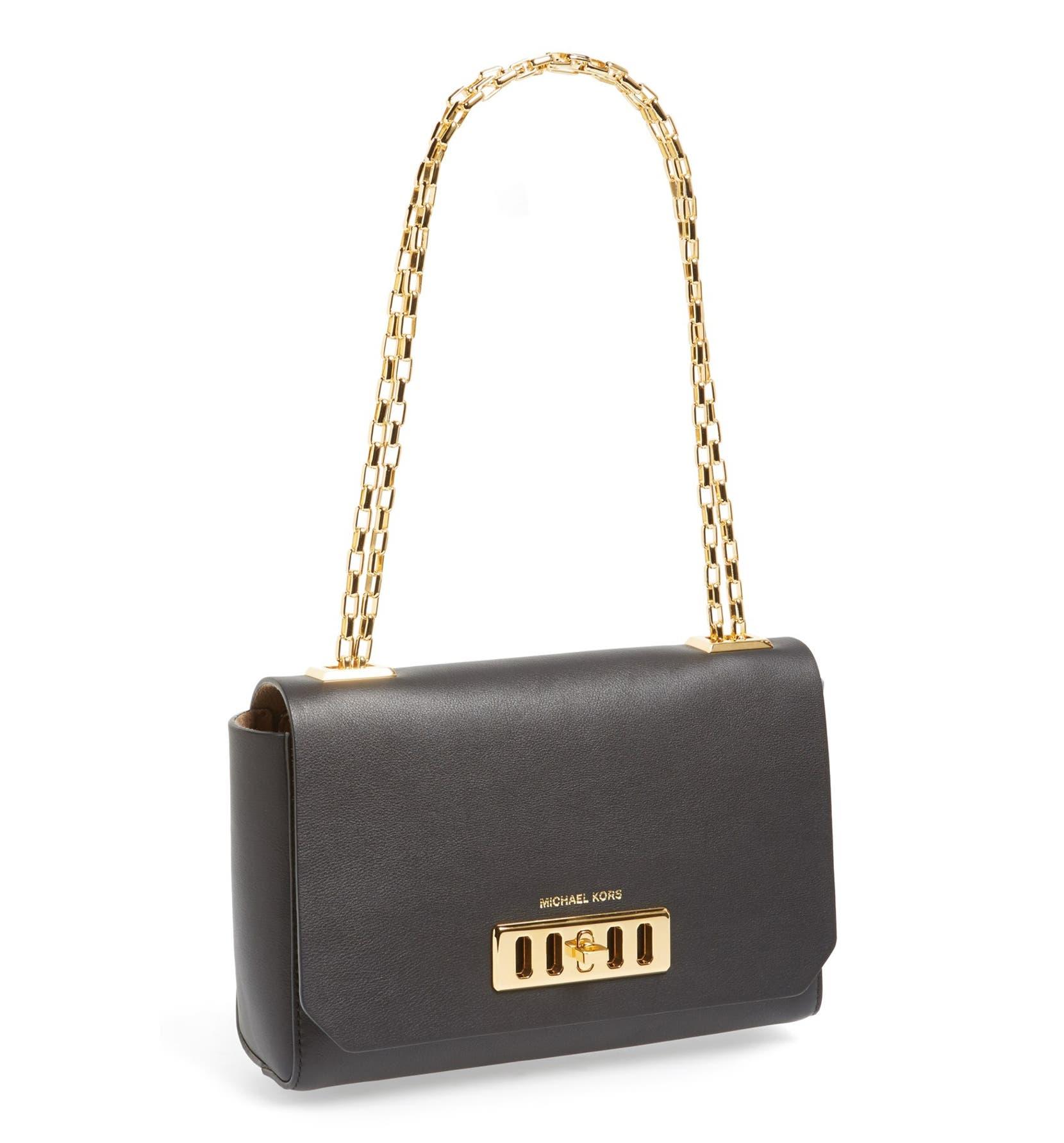 3d3394fcda Michael Kors Vivian Leather Shoulder Bag Nordstrom ...