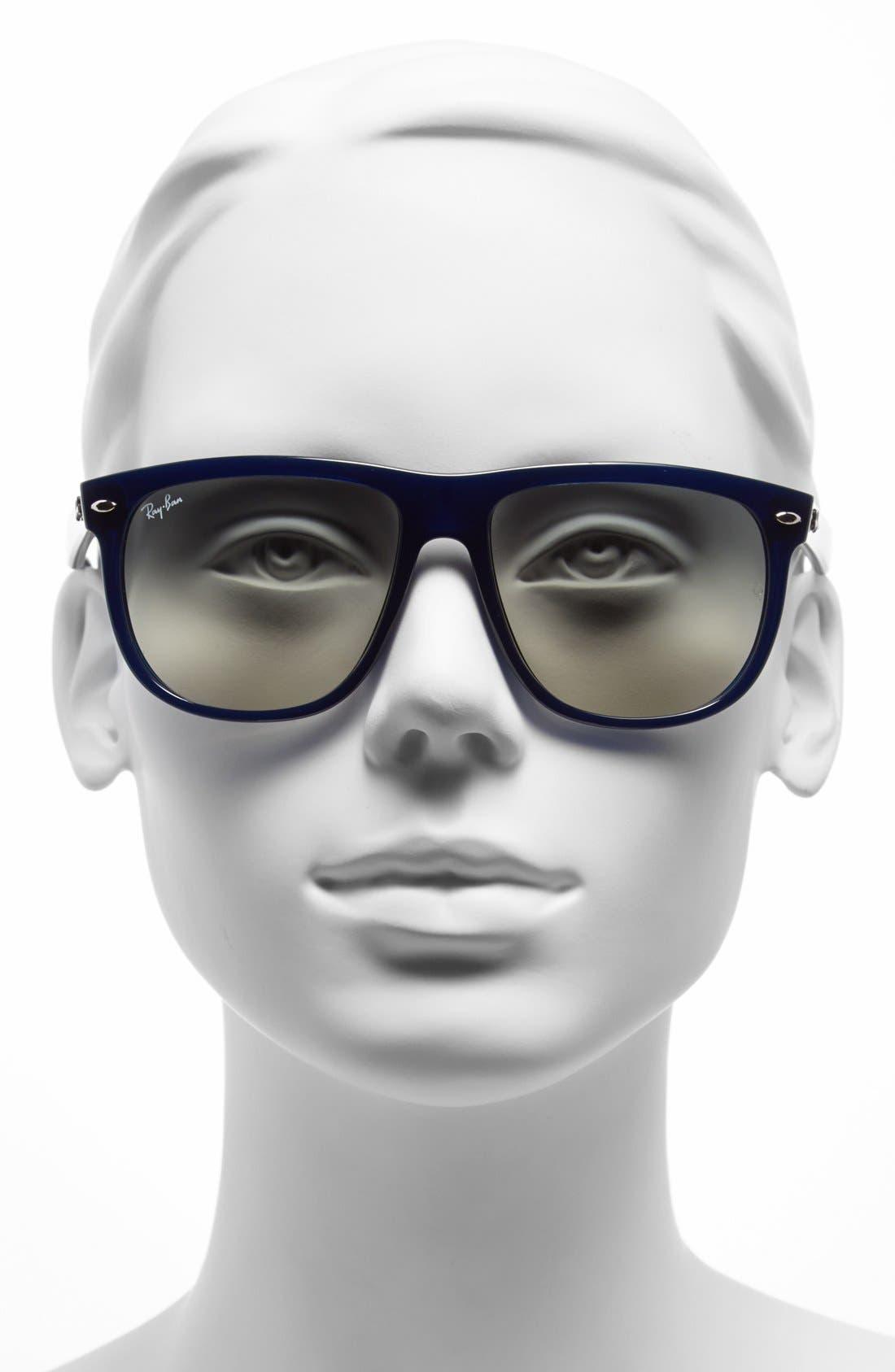 Alternate Image 2  - Ray-Ban 'Boyfriend Flat Top Frame' 56mm Sunglasses