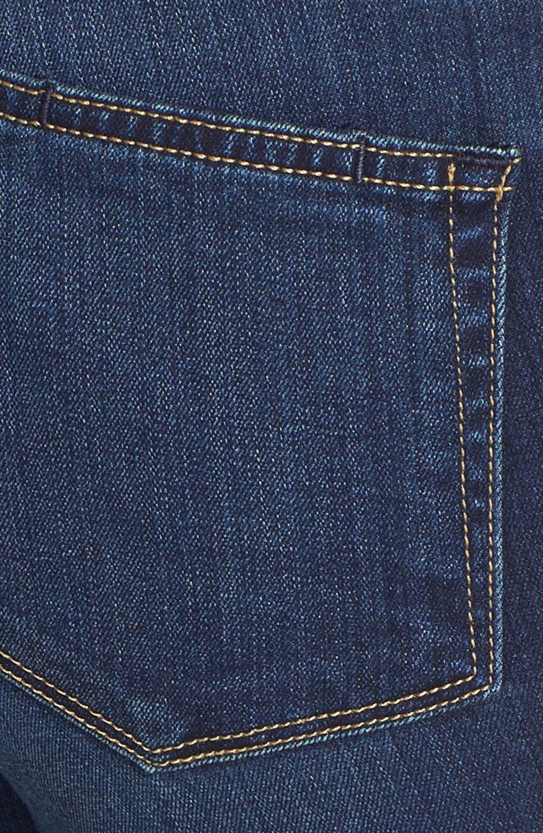 'Transcend - Bell Canyon' High Rise Flare Jeans,                             Alternate thumbnail 3, color,                             Nottingham