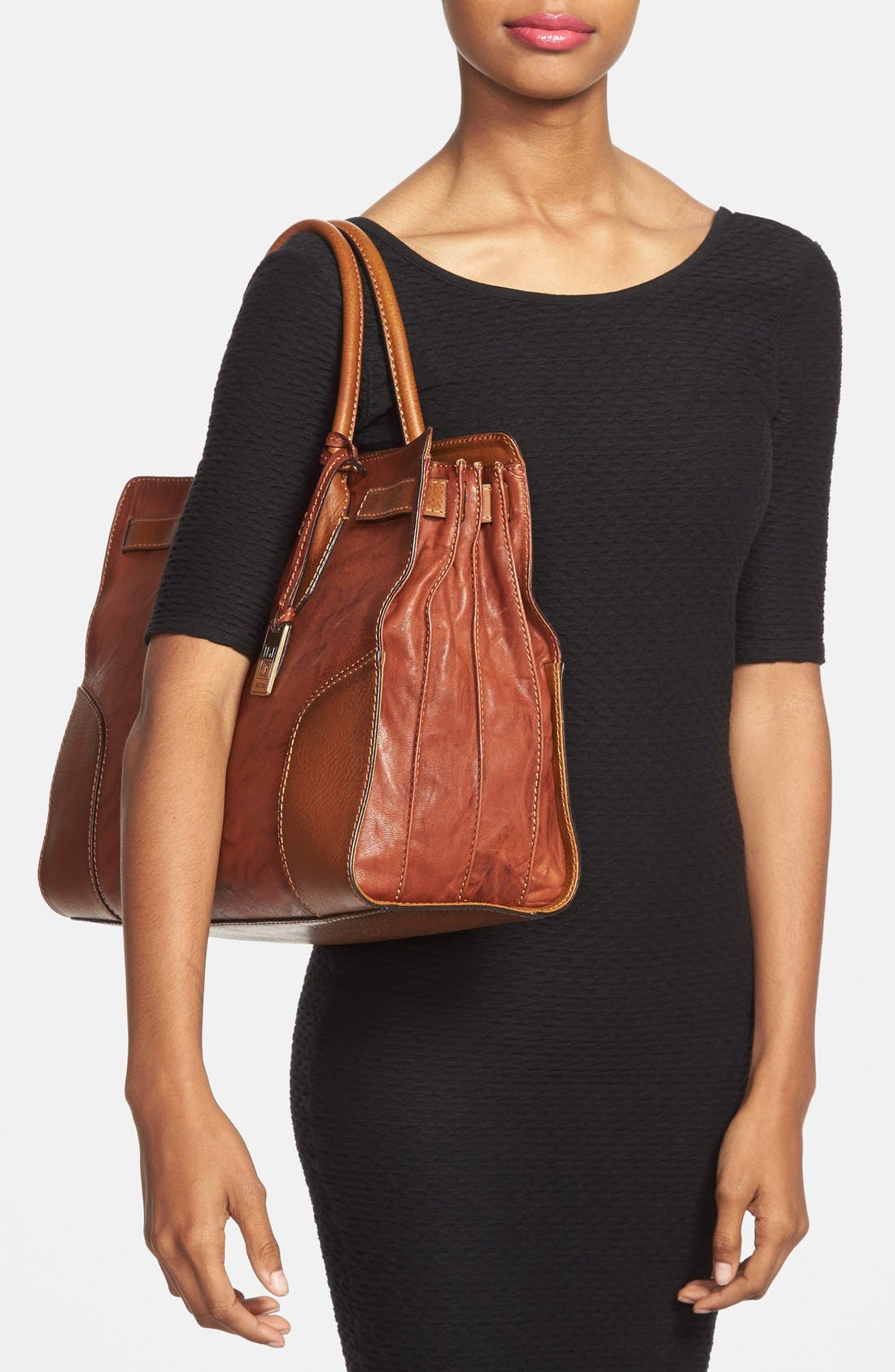 Alternate Image 2  - Frye 'Michelle' Leather Work Tote