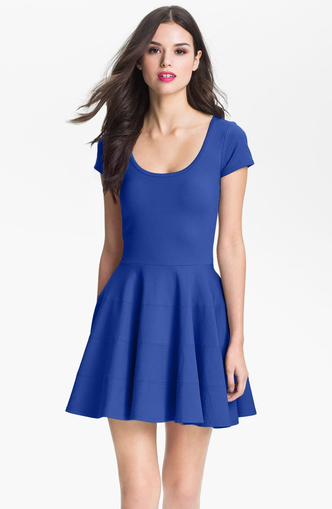 Main Image - Felicity & Coco Ponte Knit Fit & Flare Dress (Nordstrom Exclusive)