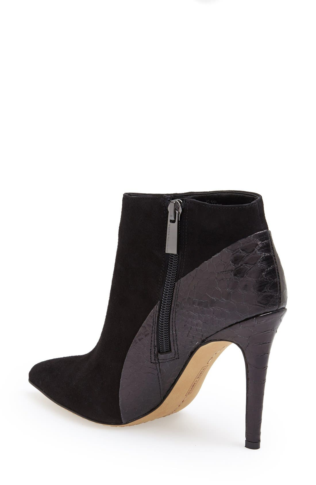 Alternate Image 2  - Vince Camuto 'Kasi' Pointy Toe Bootie (Nordstrom Exclusive) (Women)