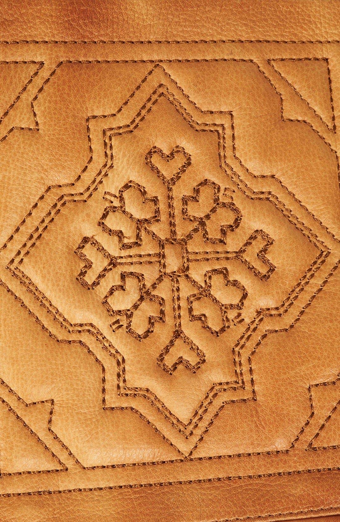 Alternate Image 3  - Topshop Tile Quilted Leather Crossbody Bag