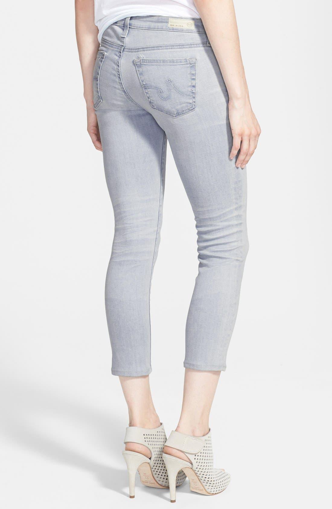 Alternate Image 2  - AG Jeans 'The Stilt' Crop Skinny Stretch Jeans (22 Year Wanderer)