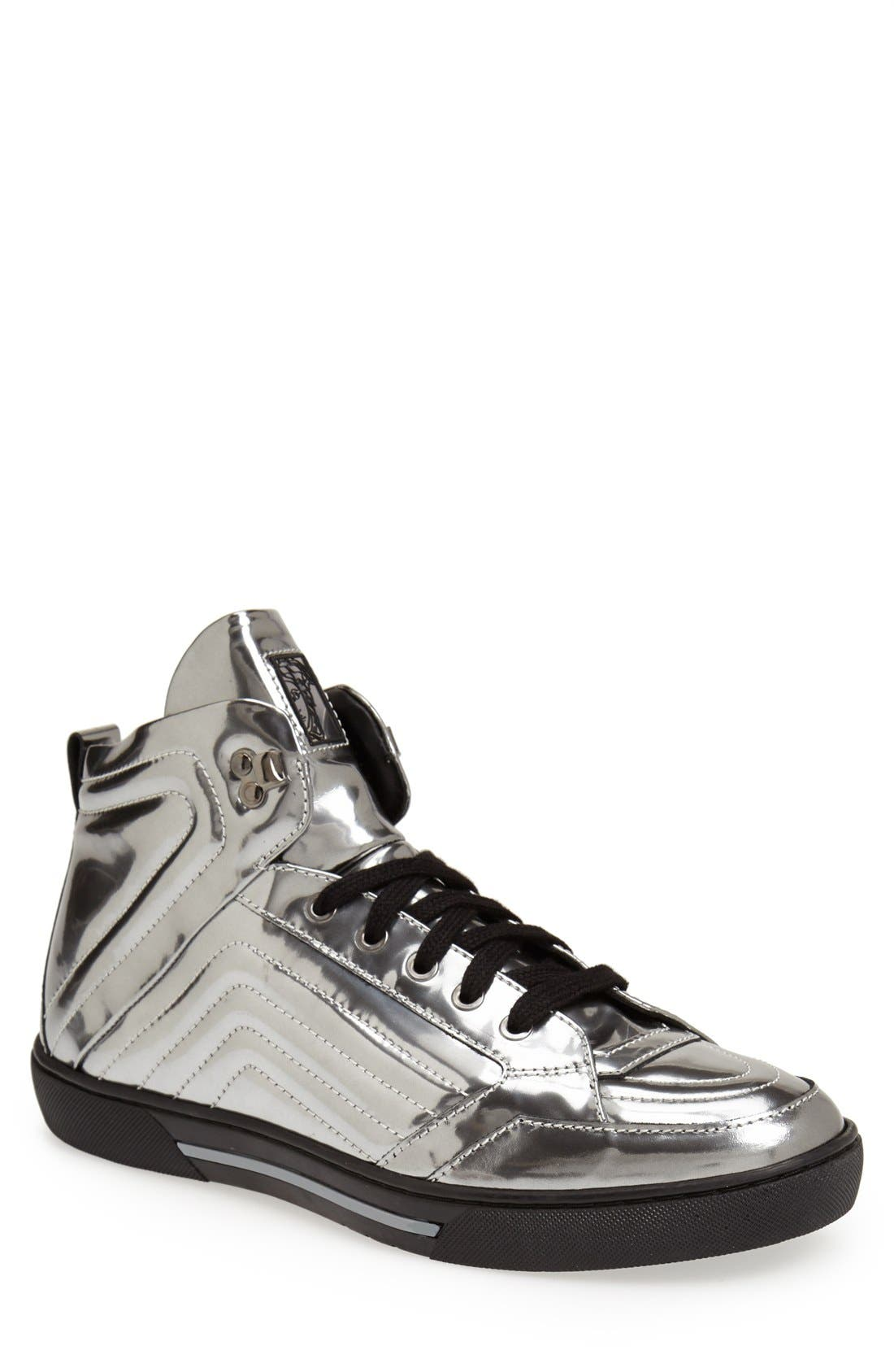 Alternate Image 1 Selected - Versace Collection High Top Sneaker (Men)