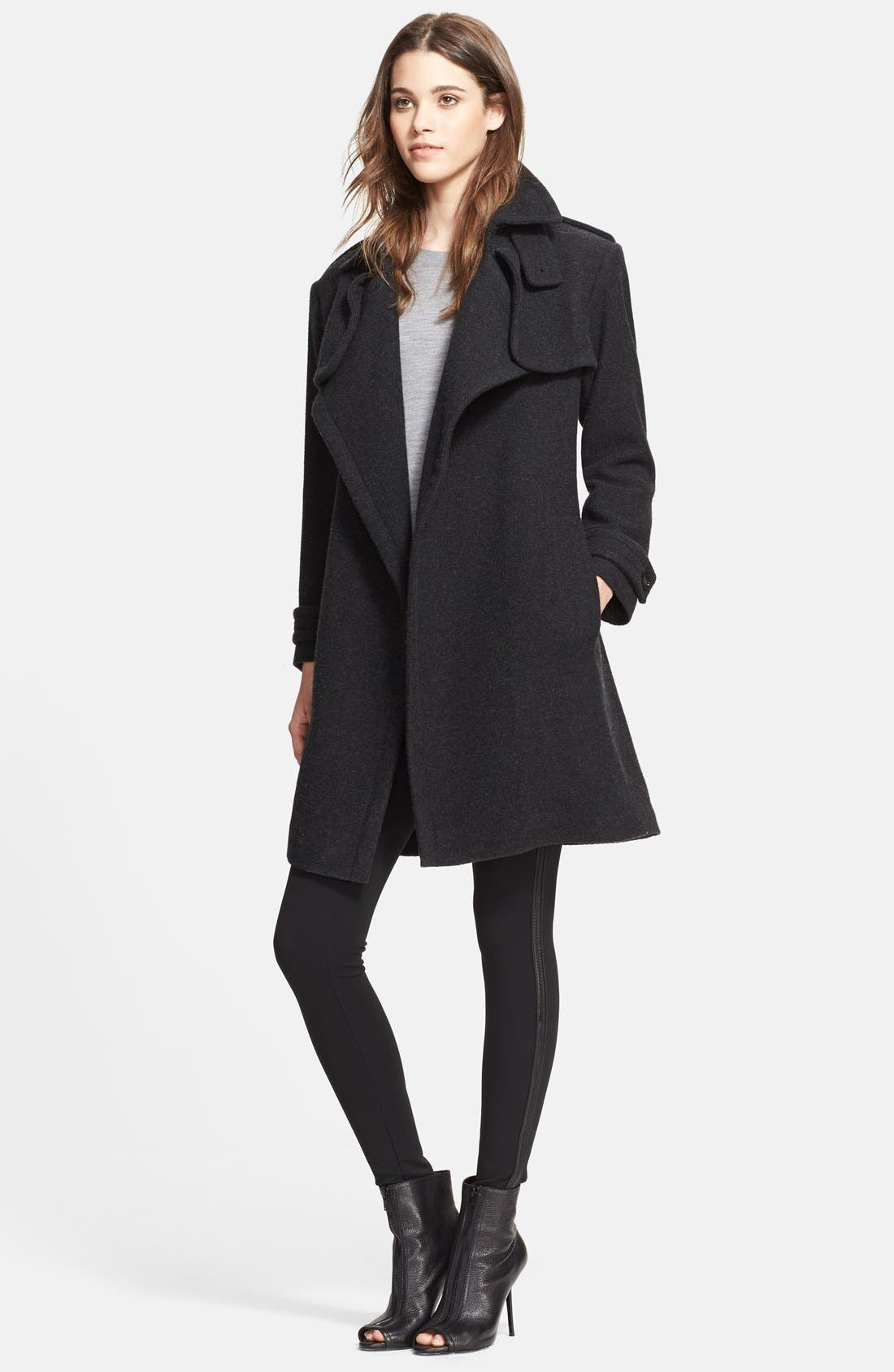 Alternate Image 3  - Burberry London Cashmere Wrap Trench Coat