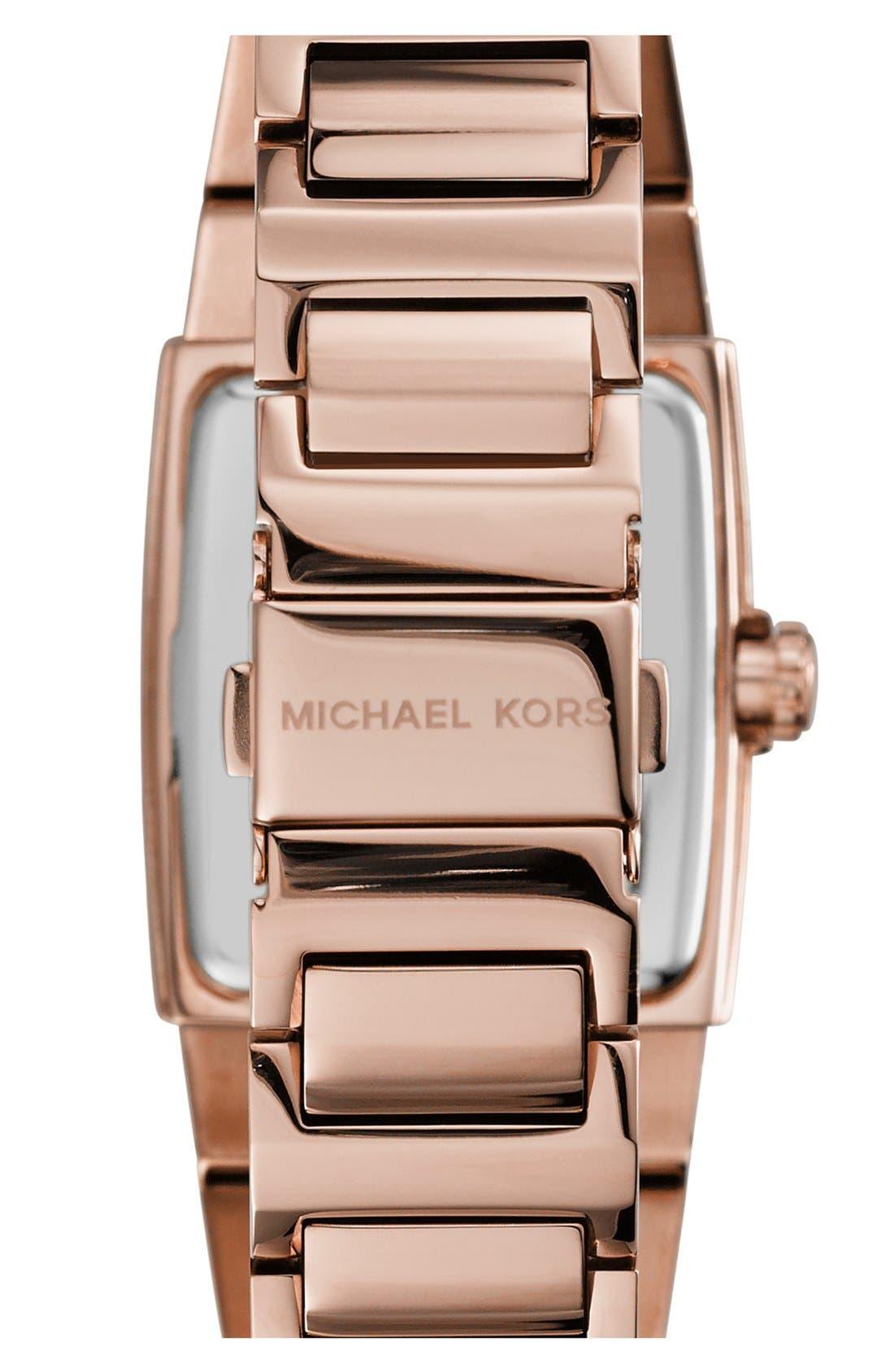 Alternate Image 2  - Michael Kors 'Denali' Barrel Case Bracelet Watch, 38mm
