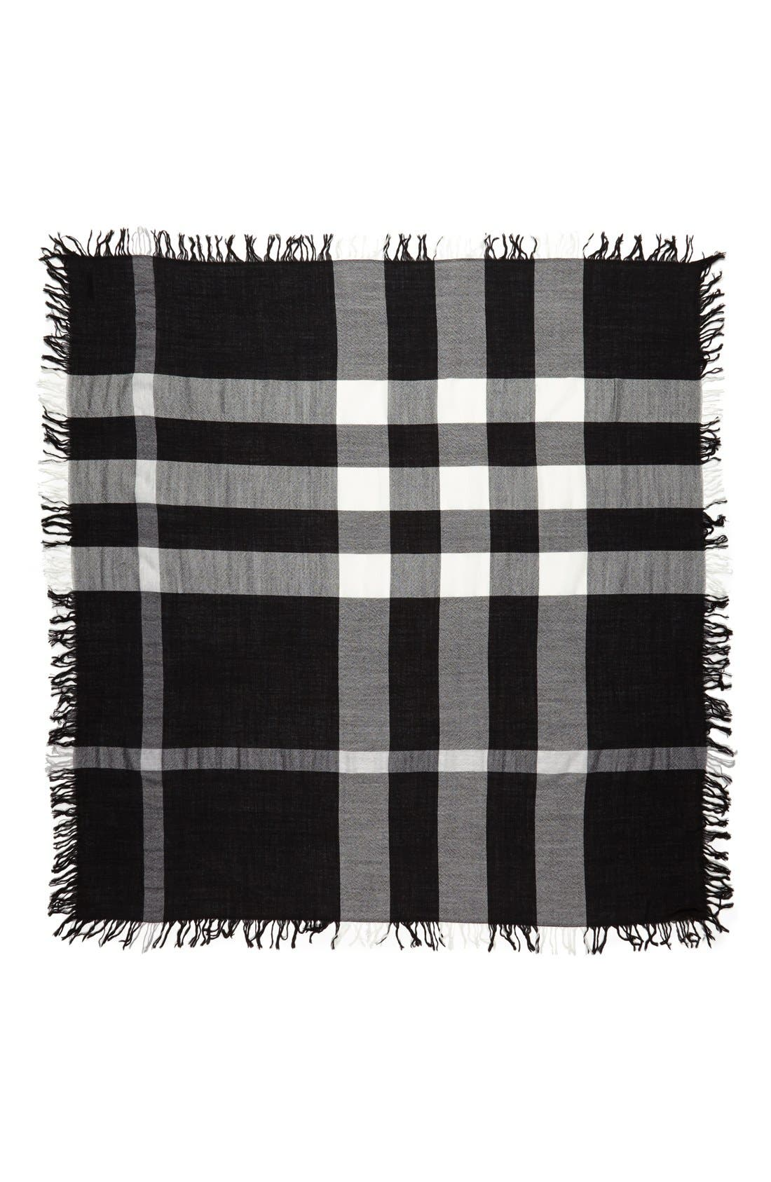 Alternate Image 2  - Burberry 'Colour Check' Square Scarf