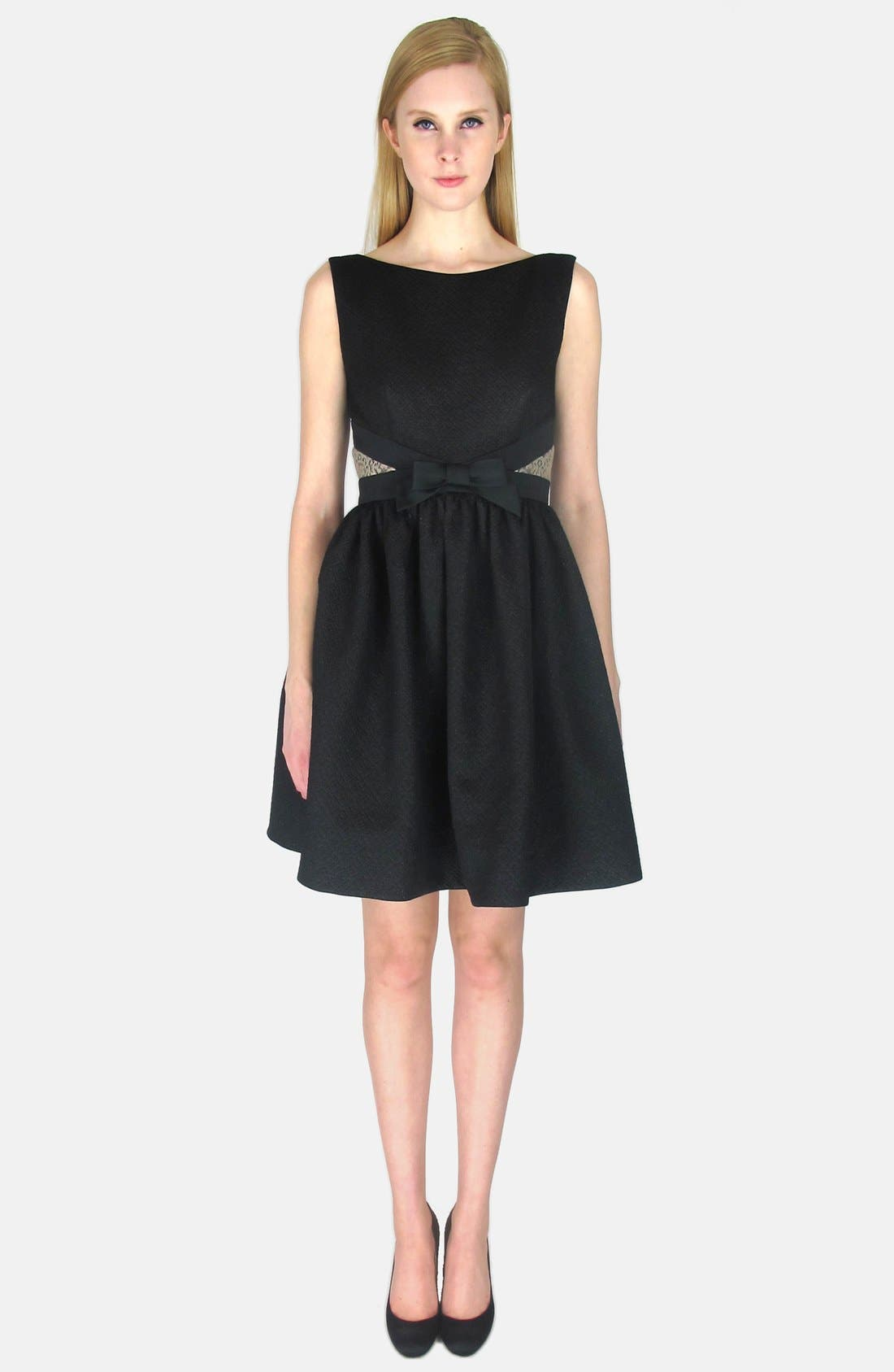 Alternate Image 5  - ERIN erin fetherston Bow Detail Jacquard Fit & Flare Dress