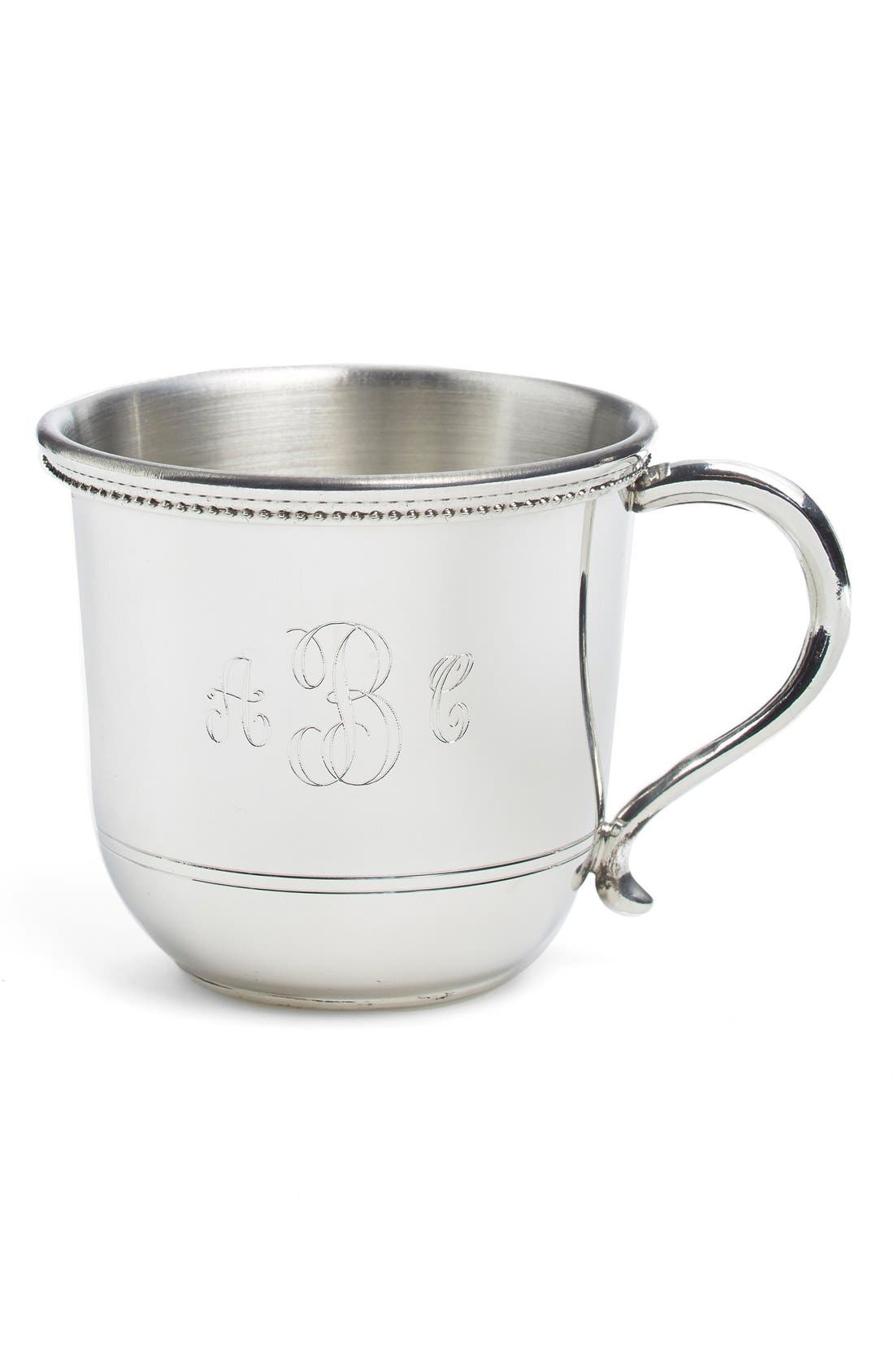 Salisbury Pewter Images Personalized Cup