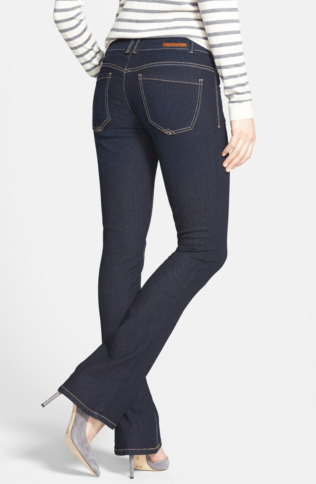 Alternate Image 2  - Wit & Wisdom 'Itty Bitty' Bootcut Jeans (Blue) (Nordstrom Exclusive)
