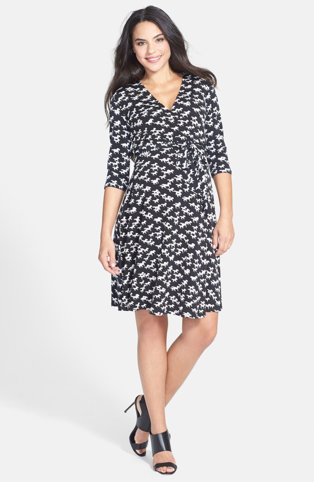 Main Image - Leota 'Perfect Wrap' Sheath Maternity Dress