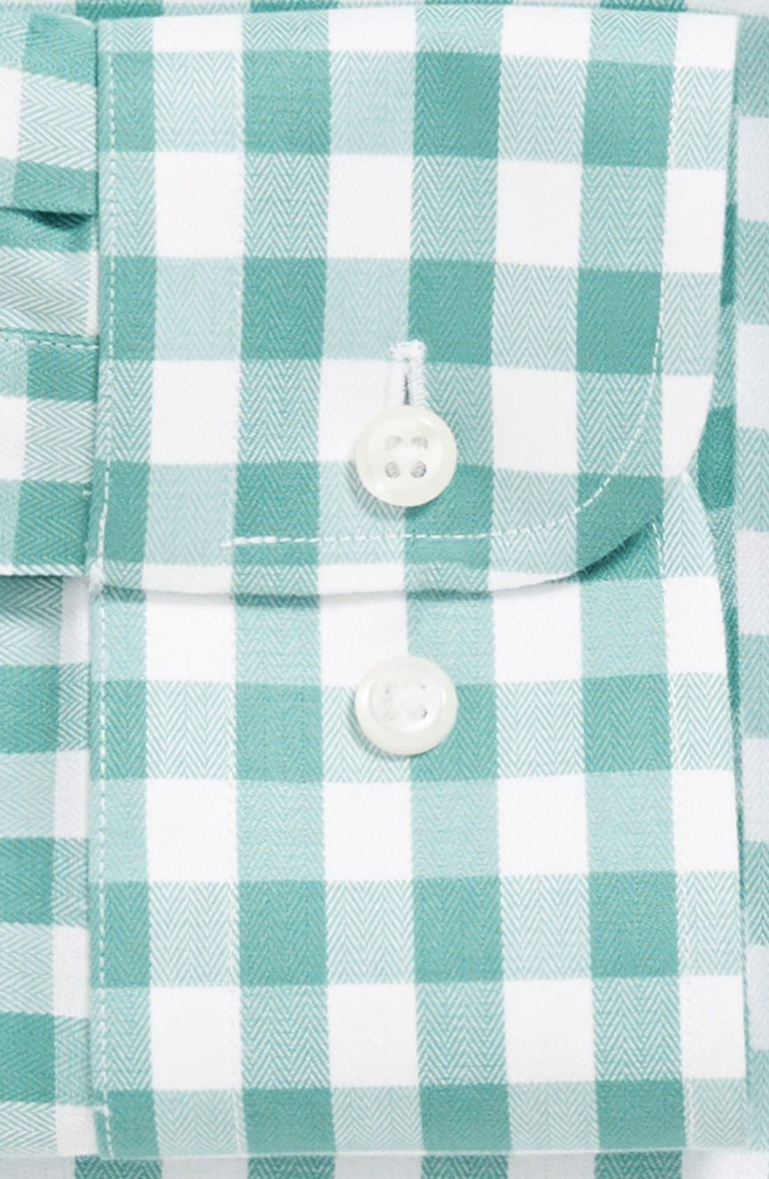 Alternate Image 2  - Nordstrom Smartcare™ Trim Fit Check Dress Shirt