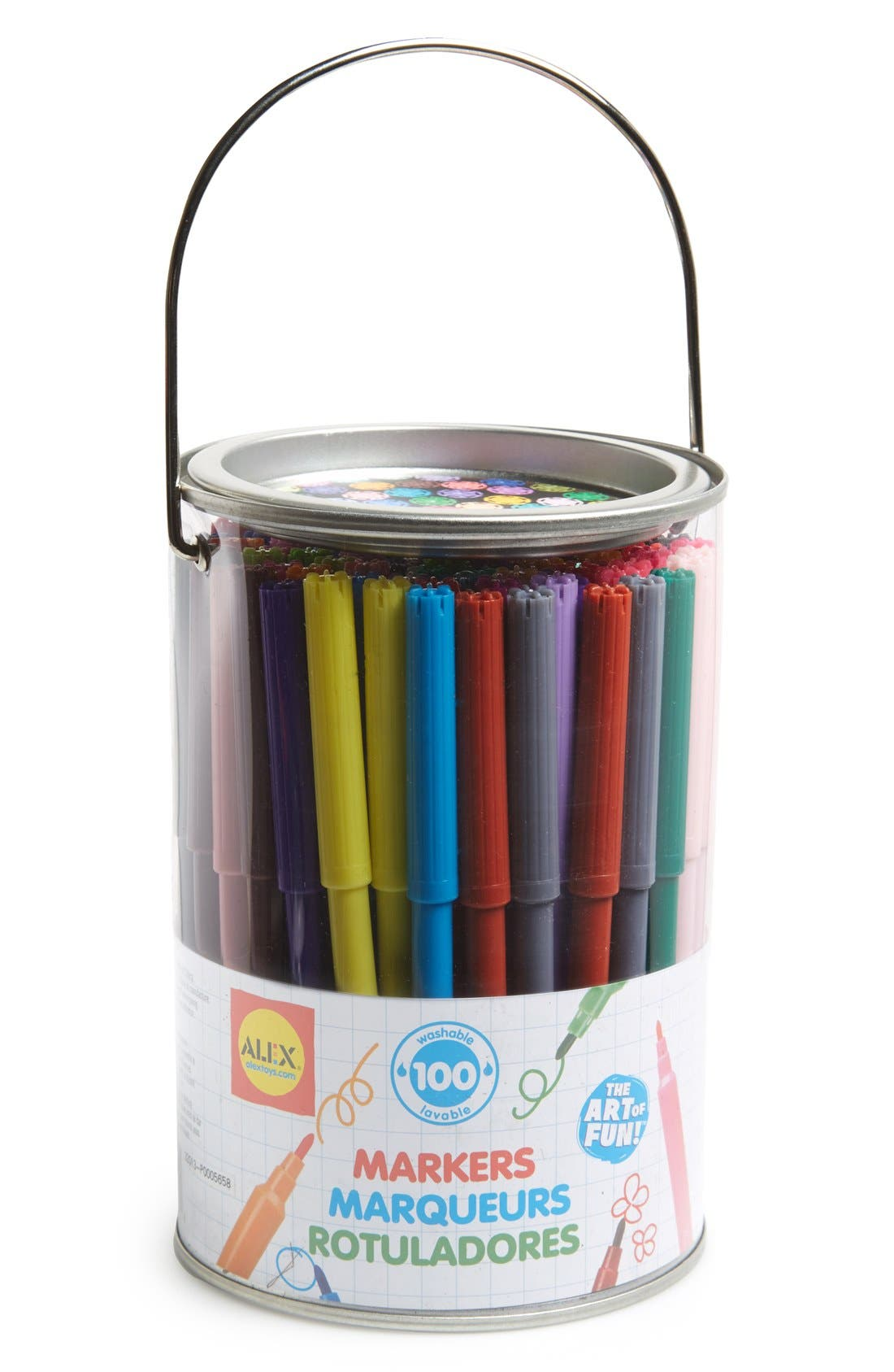 Alternate Image 1 Selected - Alex® Toys Washable Markers (100-Pack)