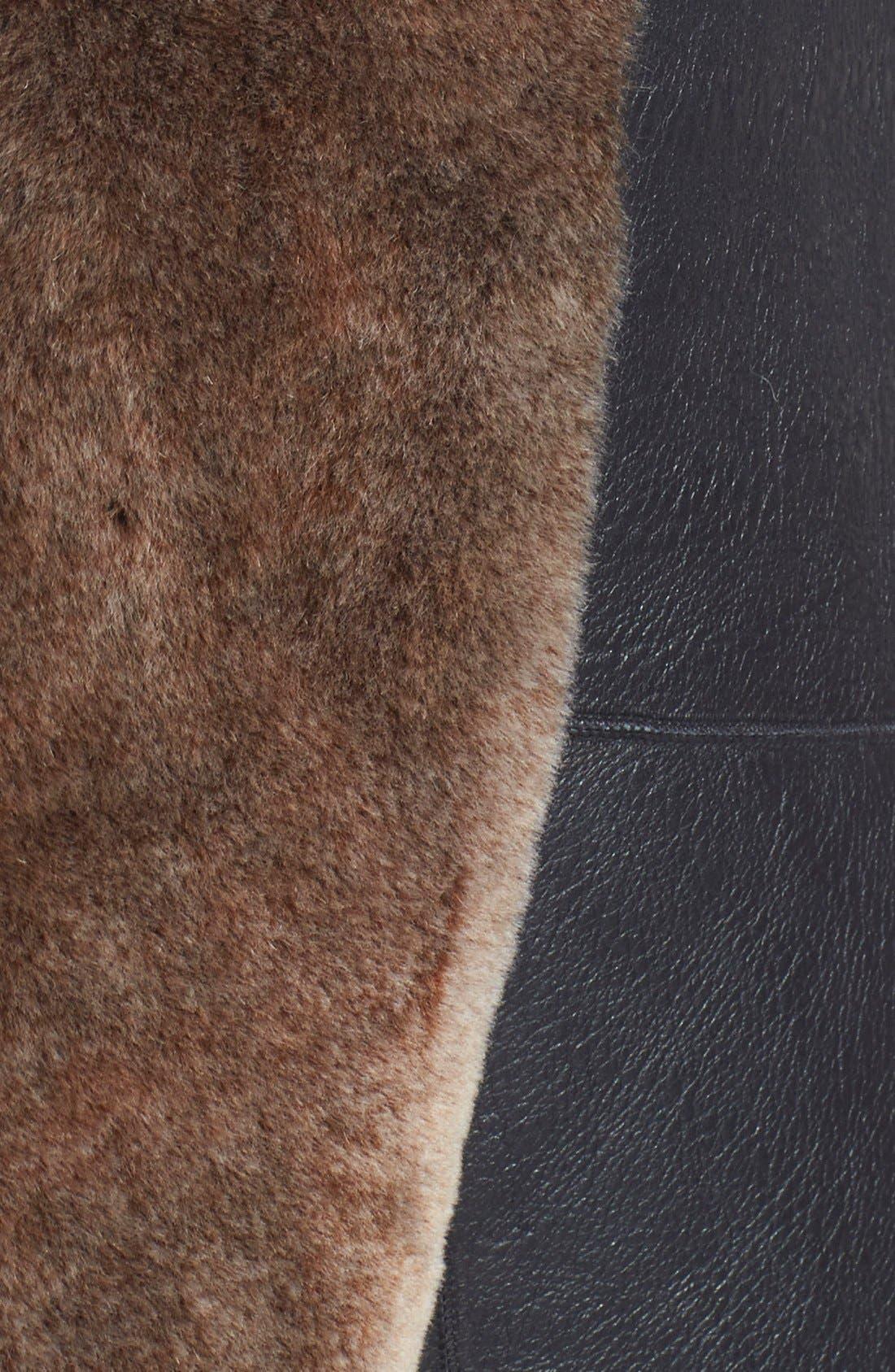 Alternate Image 3  - Truth & Pride Genuine Shearling Vest