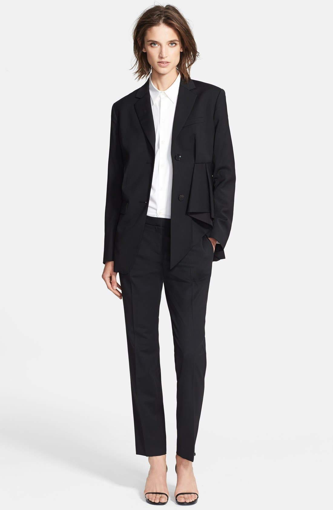 Alternate Image 1 Selected - Theory Crop Stretch Wool Pants