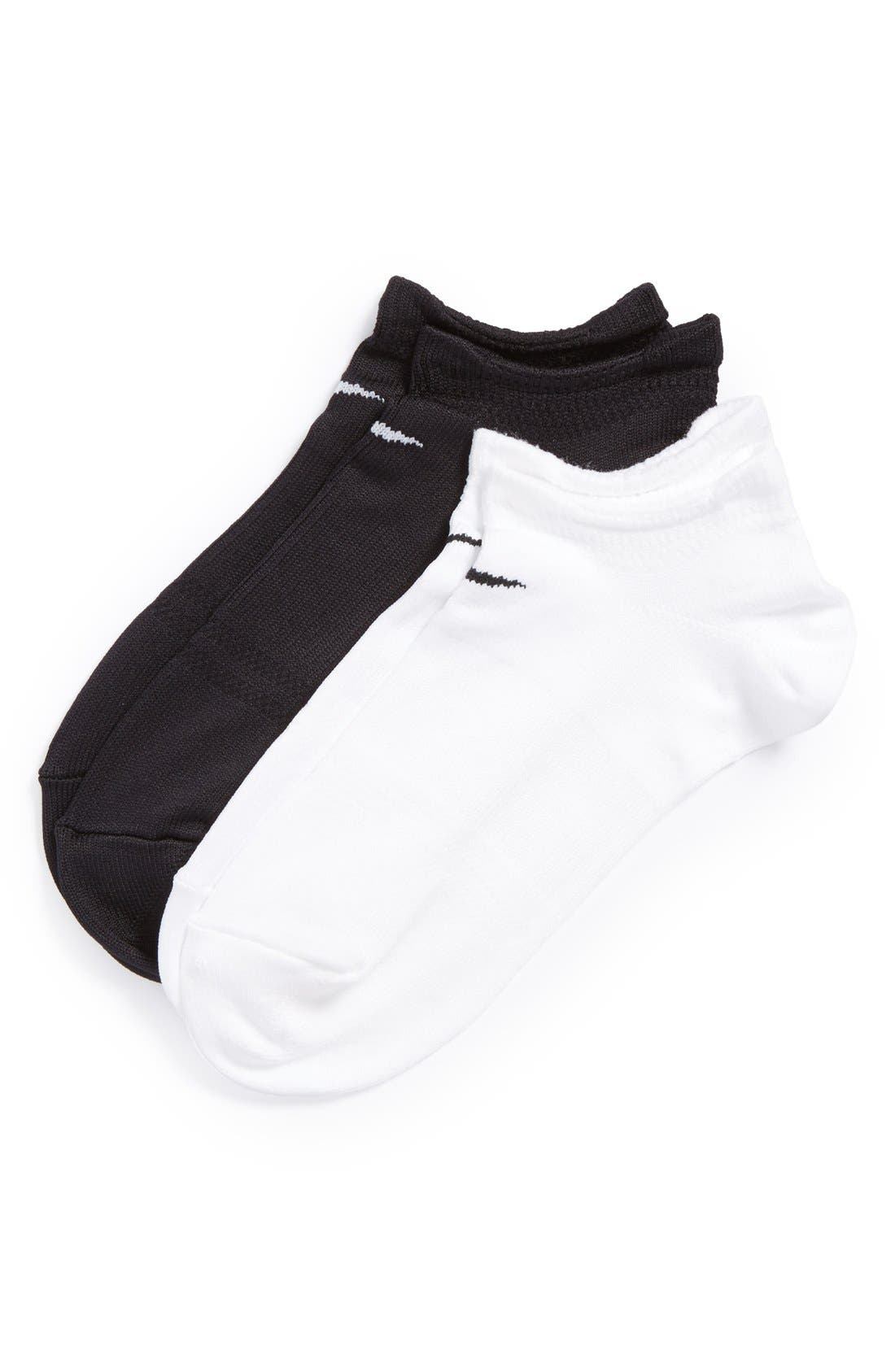 Alternate Image 2  - Nike Performance 2-Pack No-Show Socks