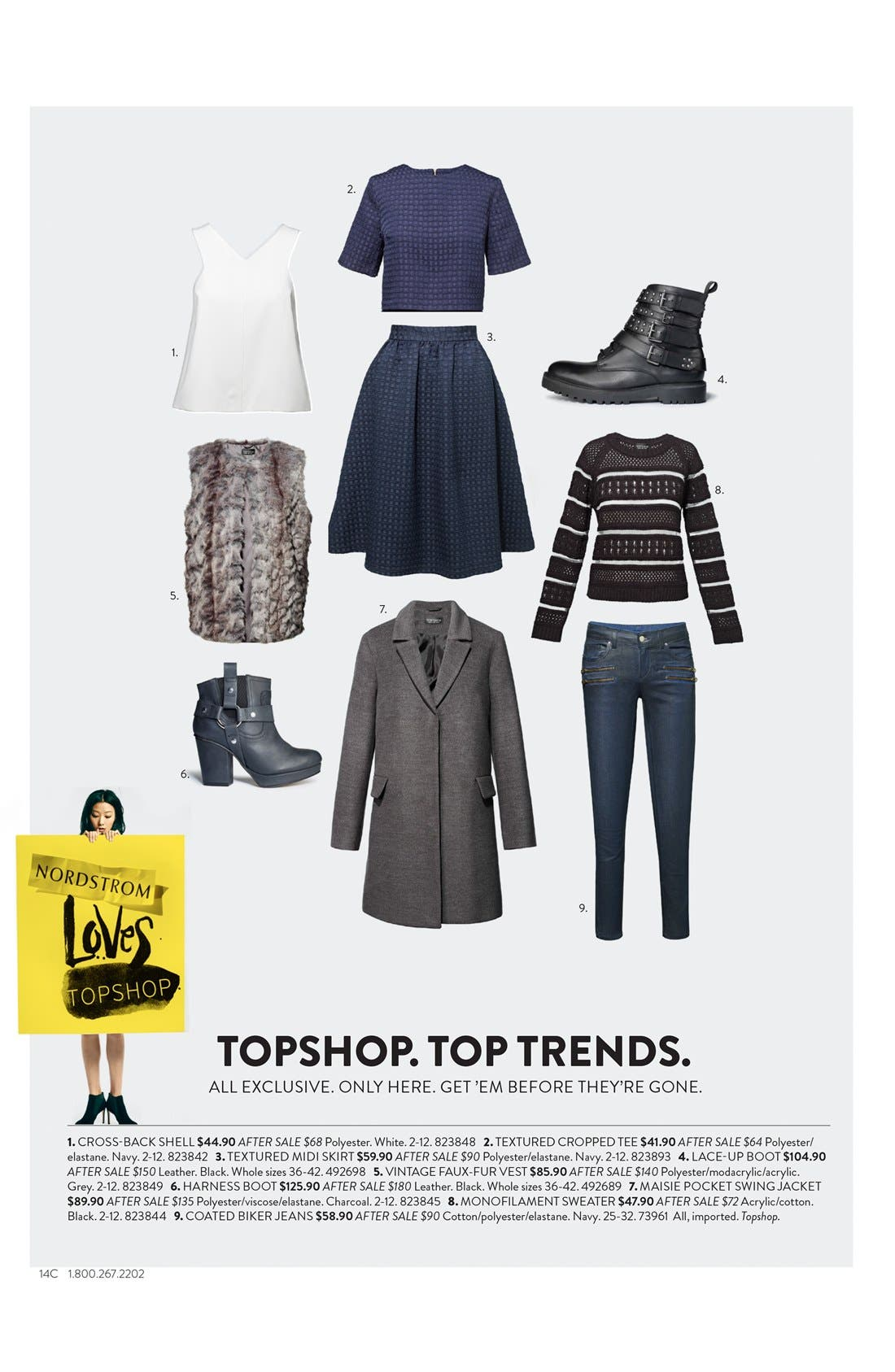 Alternate Image 5  - Topshop 'Apply' Lace-Up Biker Boot (Women)