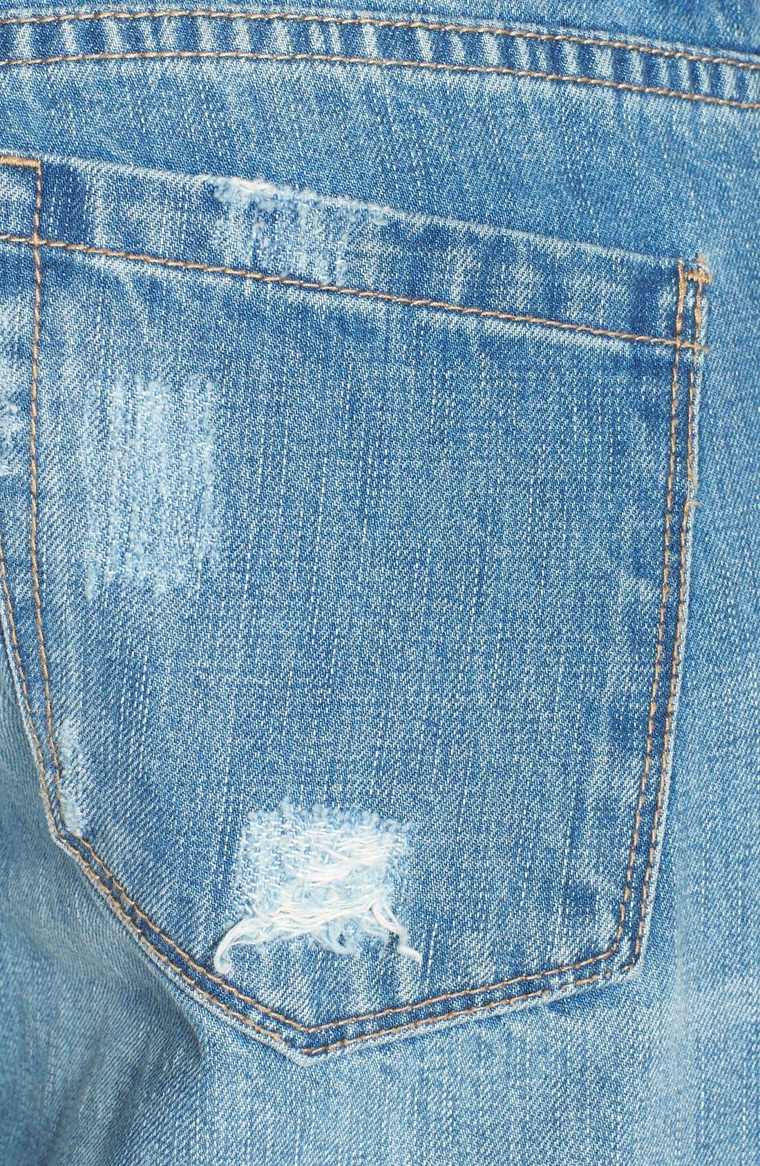 Alternate Image 3  - BLANKNYC Destroyed Boyfriend Jeans (Torn to Shreds)