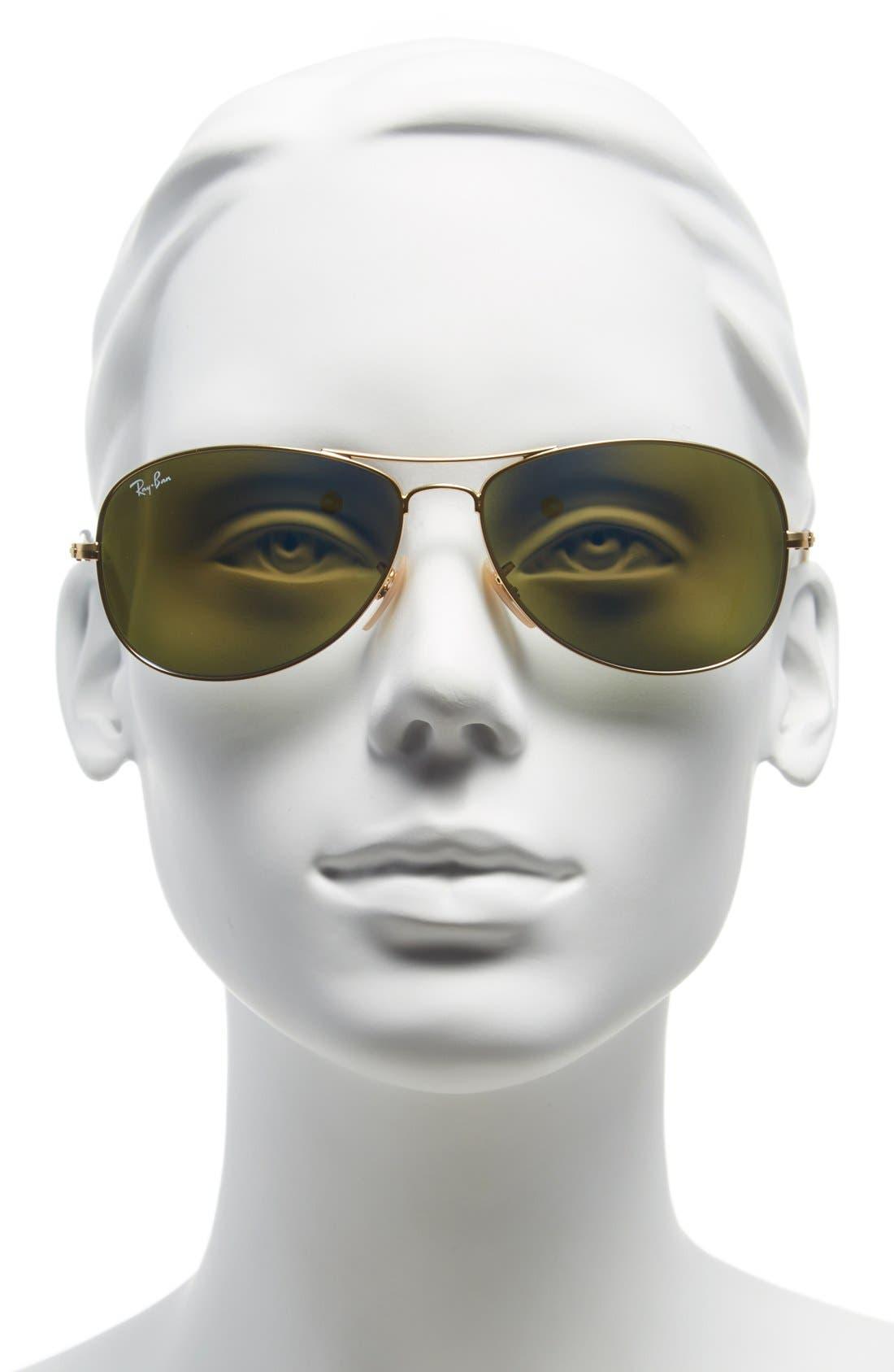Alternate Image 2  - Ray-Ban 'New Classic' 59mm Aviator Sunglasses