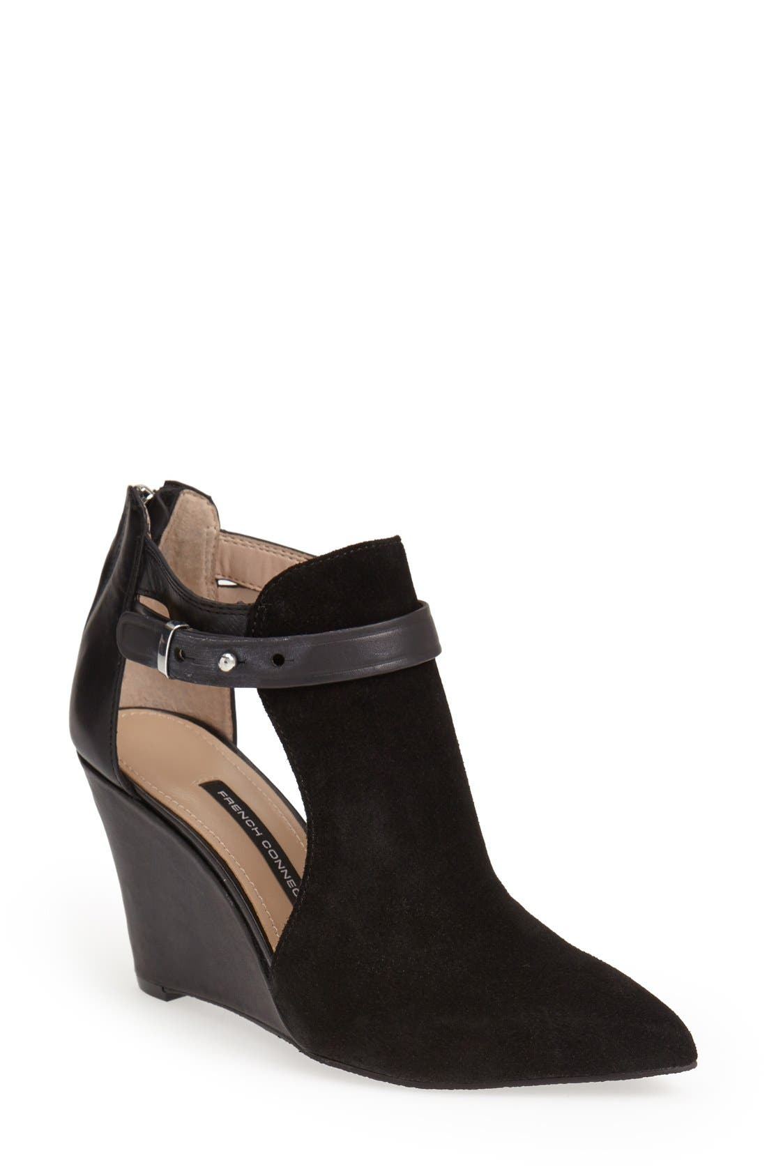 Alternate Image 1 Selected - French Connection 'Blyss' Wedge Boot (Women)