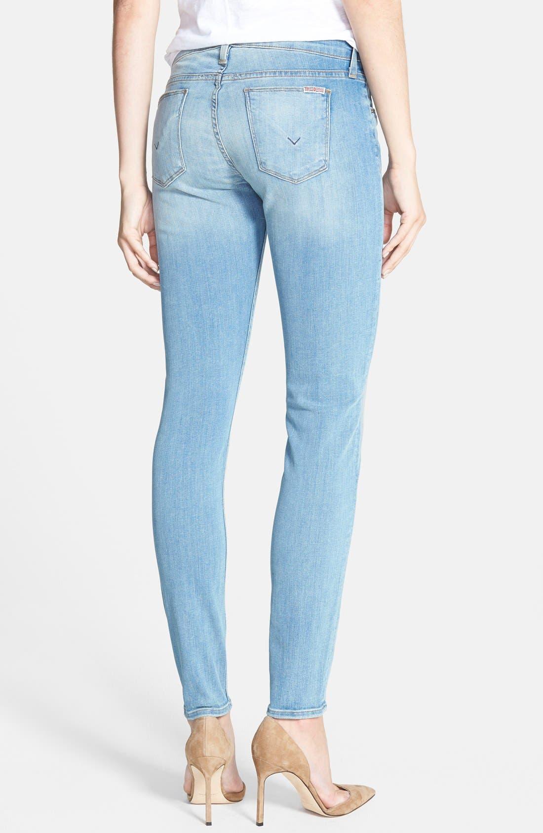 Alternate Image 2  - Hudson Jeans 'Krista' Super Skinny Jeans (Mischief)