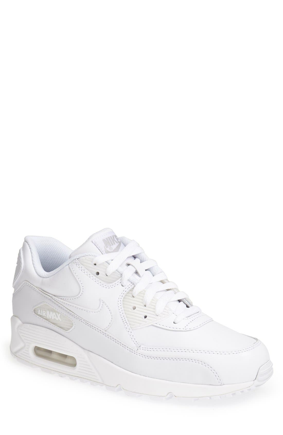 Alternate Image 1 Selected - Nike 'Air Max 90' Leather Sneaker (Men)