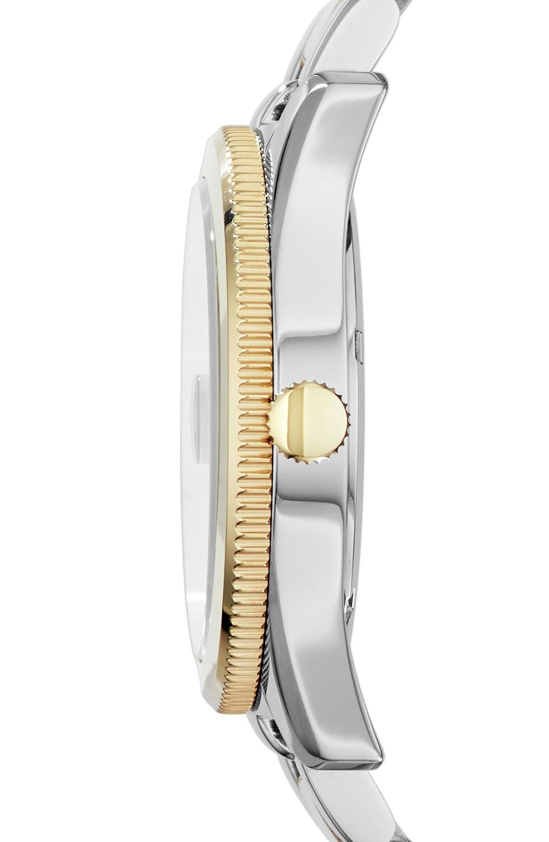 Alternate Image 3  - Fossil Perfect Boyfriend Bracelet Watch, 39mm