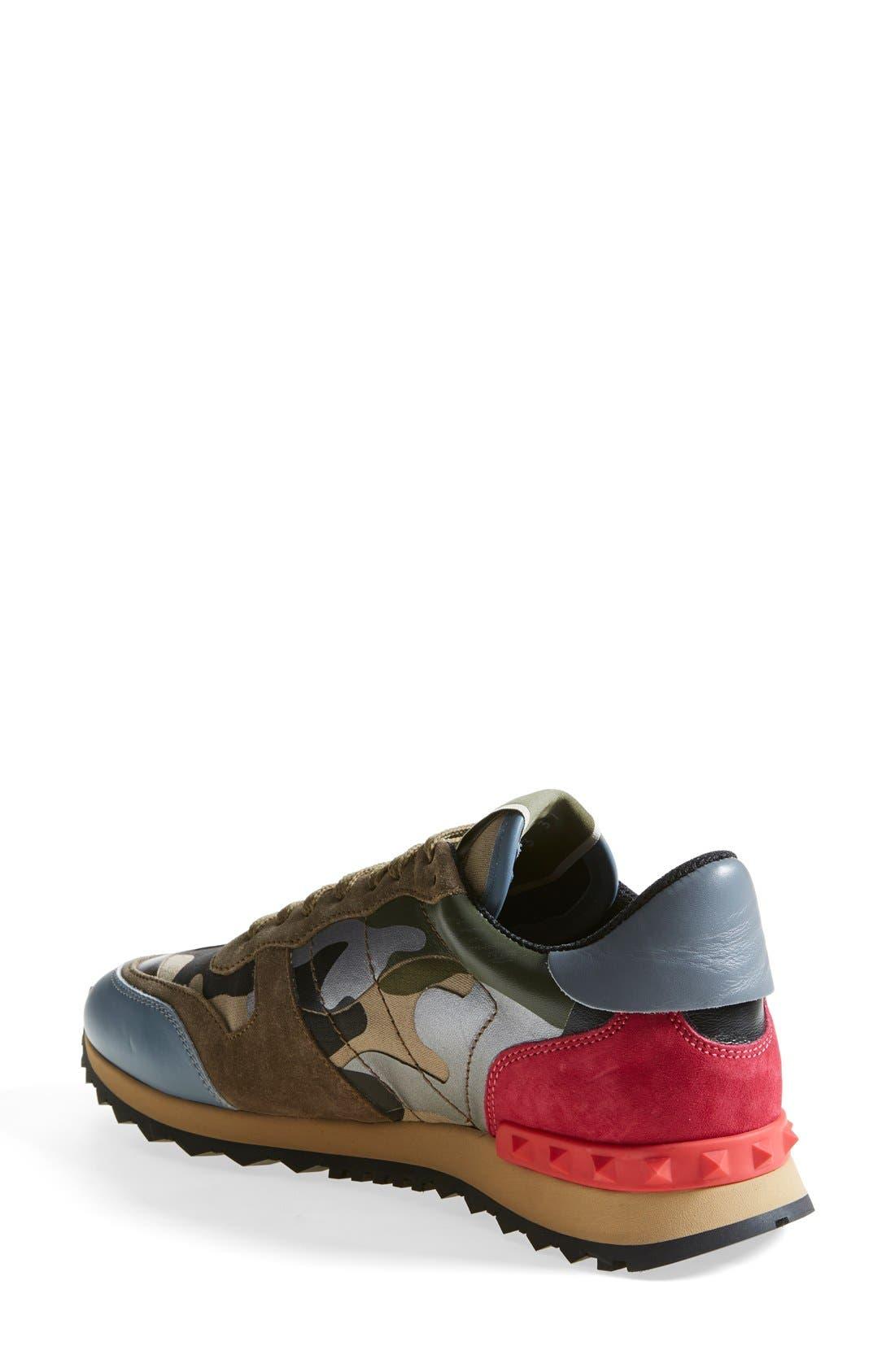 Alternate Image 2  - VALENTINO GARAVANI Camouflage Sneaker (Women)