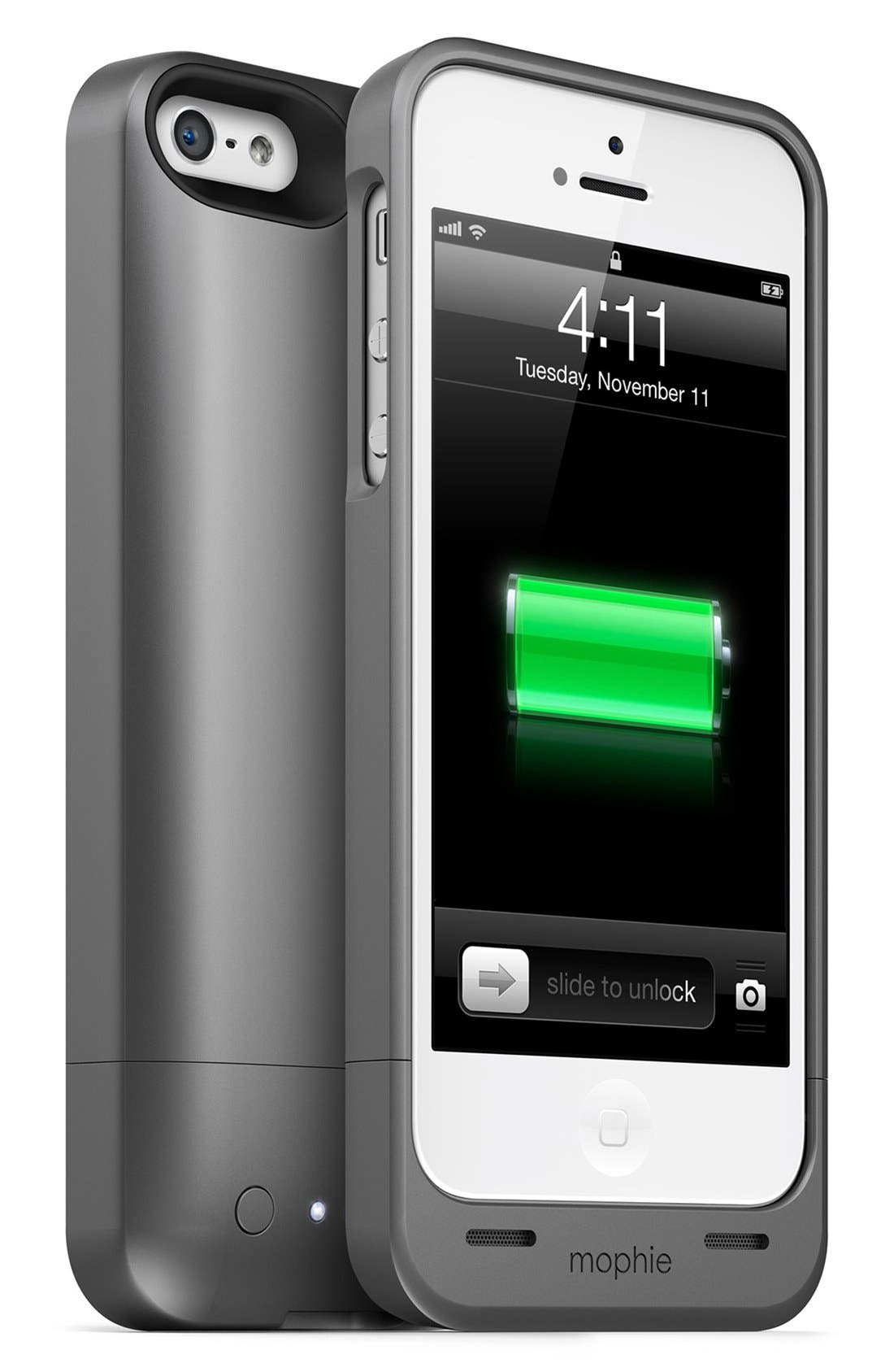 Main Image - mophie 'juice pack helium' iPhone 5/5s charging case
