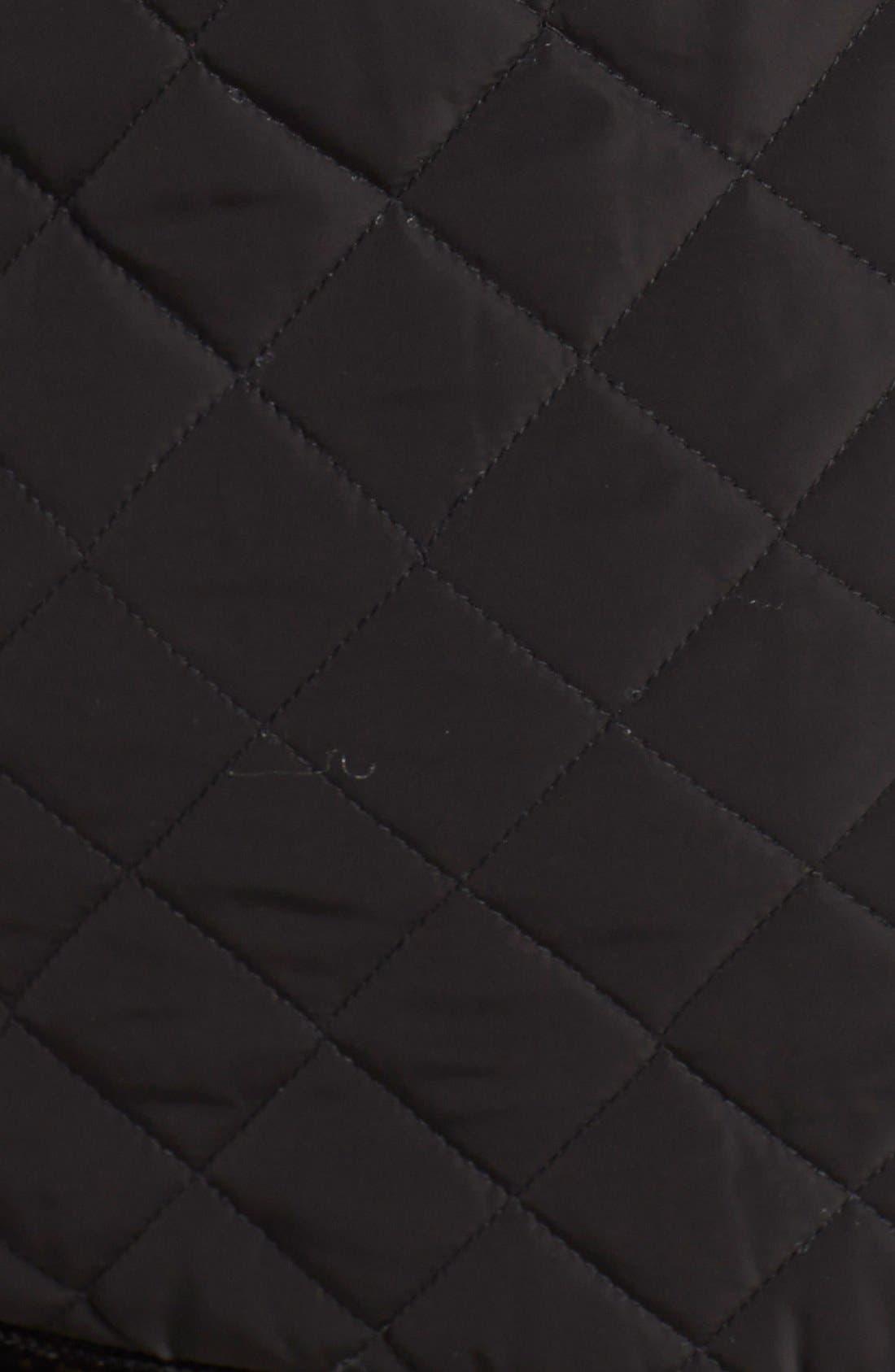 Alternate Image 3  - kensie Diamond Quilted Jacket (Online Only)
