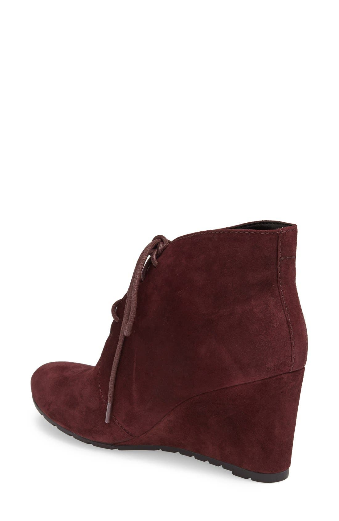 Alternate Image 2  - Clarks® 'Rosepoint Dew' Suede Boot (Women)