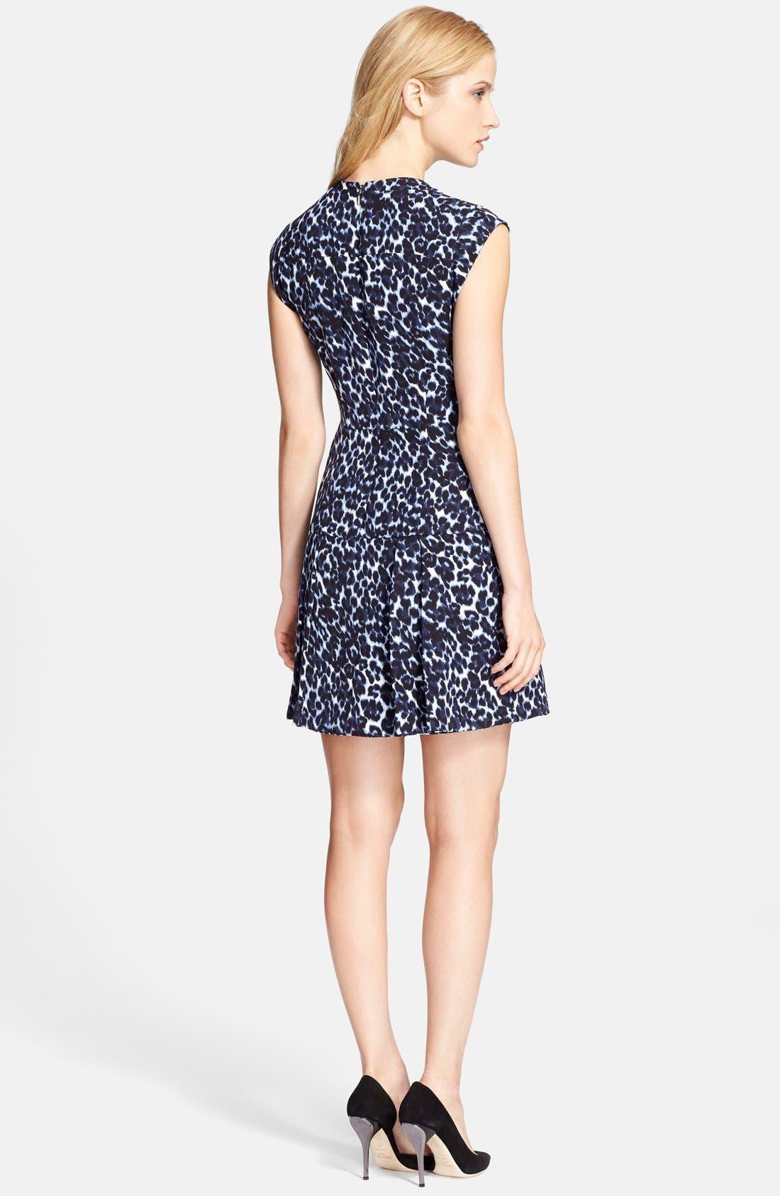 Alternate Image 2  - Rebecca Taylor Sleeveless Mock Neck Dress
